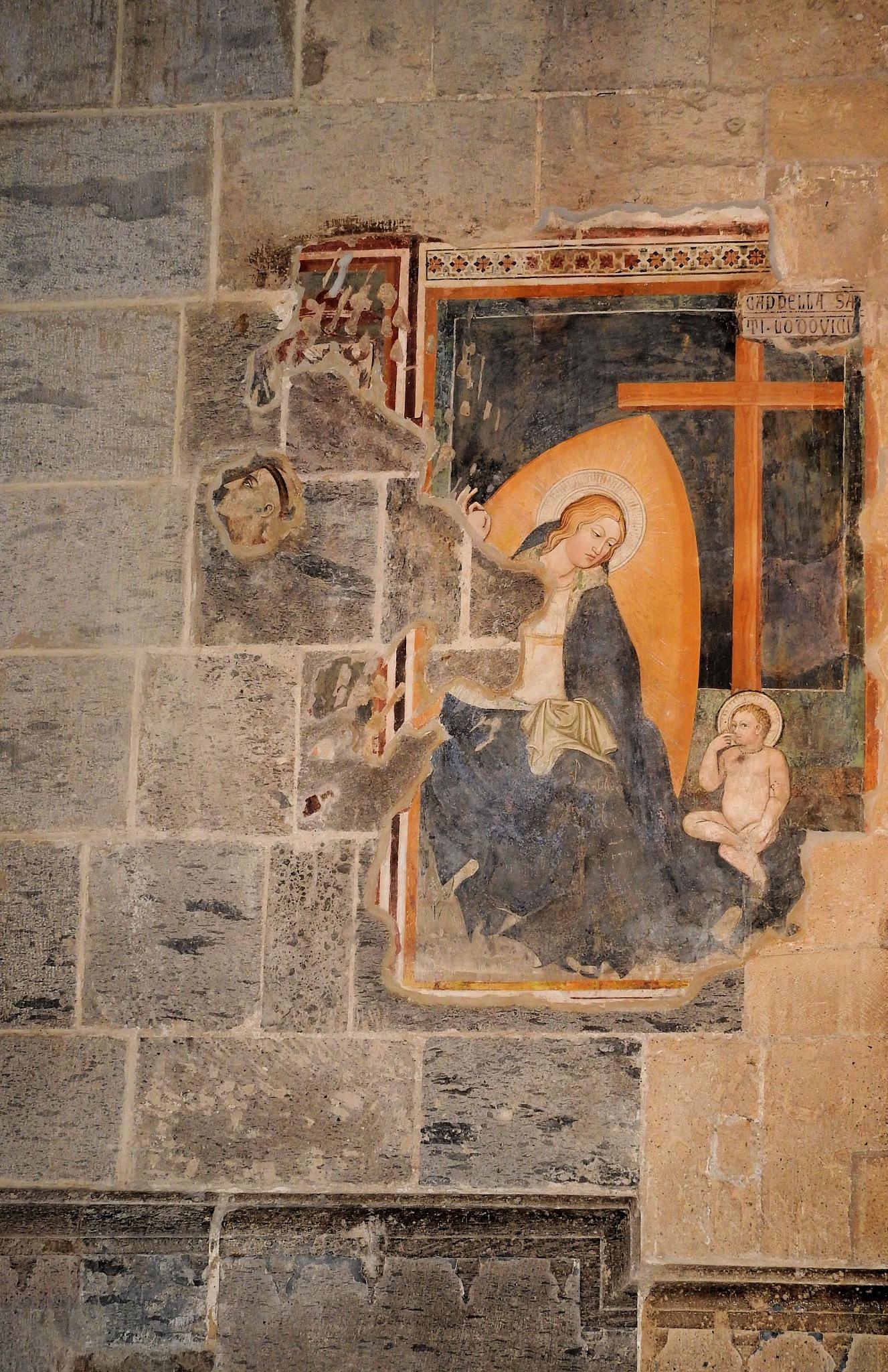 Naples - Saint Clare Church - Chiesa di santa Chiara in HDR - 8 by Arnaldo De Lisio