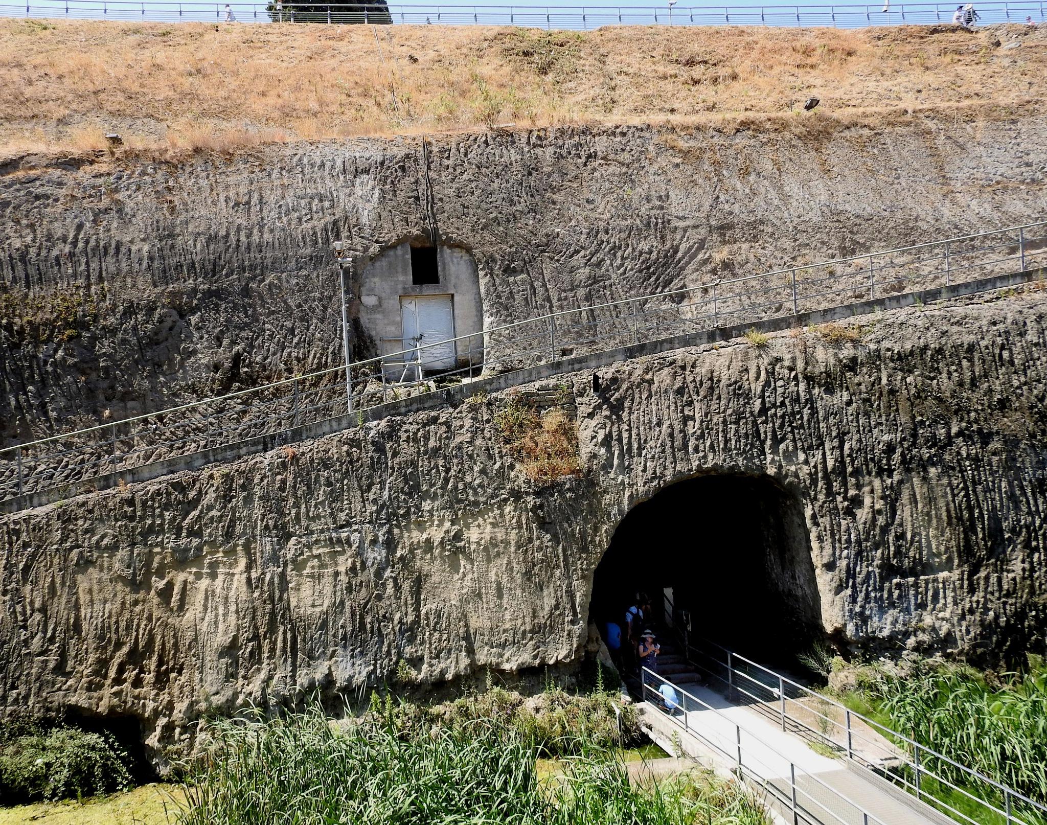 Hercolaneum Ercolano [Naples] - The Lava And Mud Wall - 2 by Arnaldo De Lisio