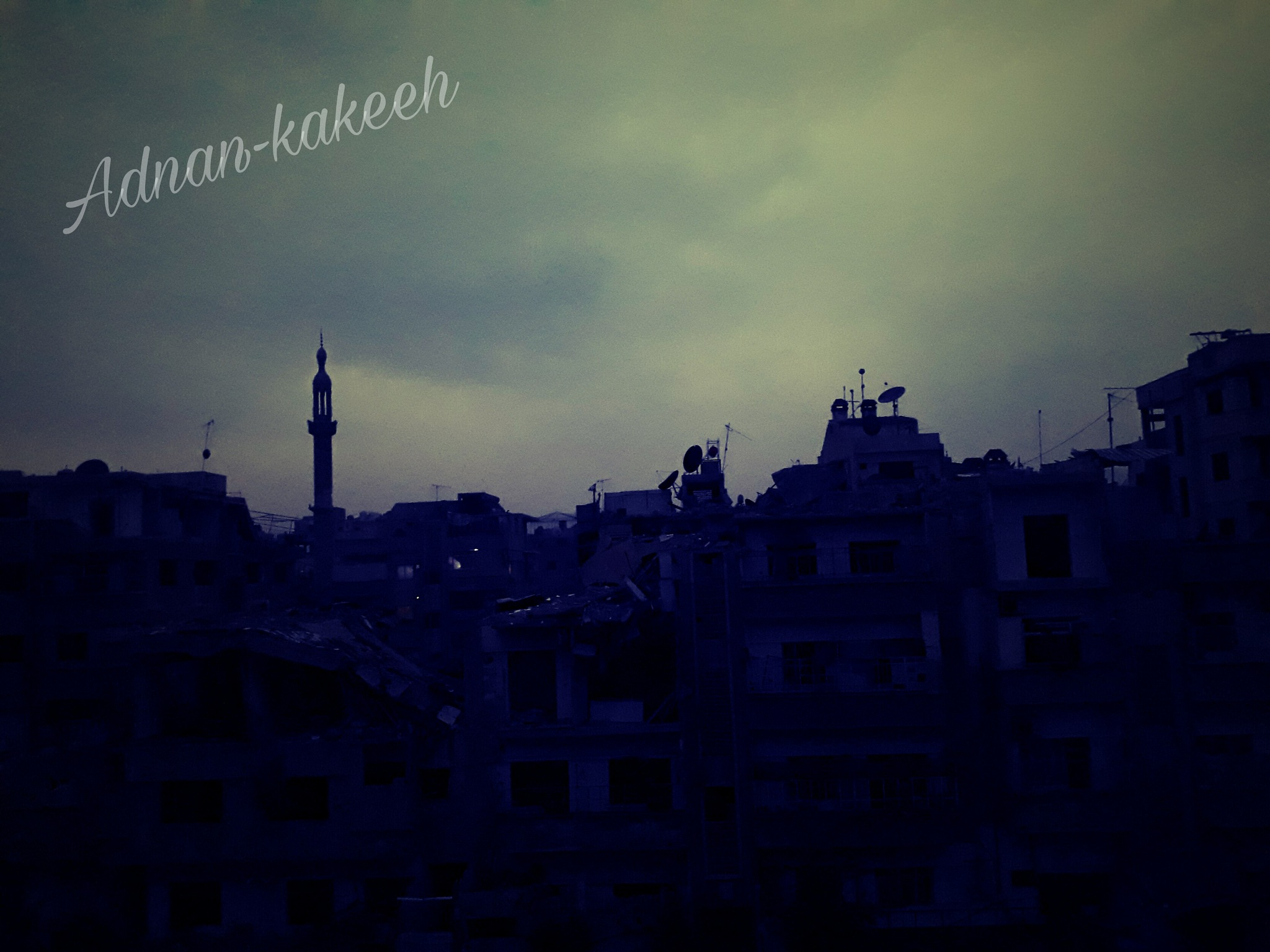 douma city by Adnan Kakeeh