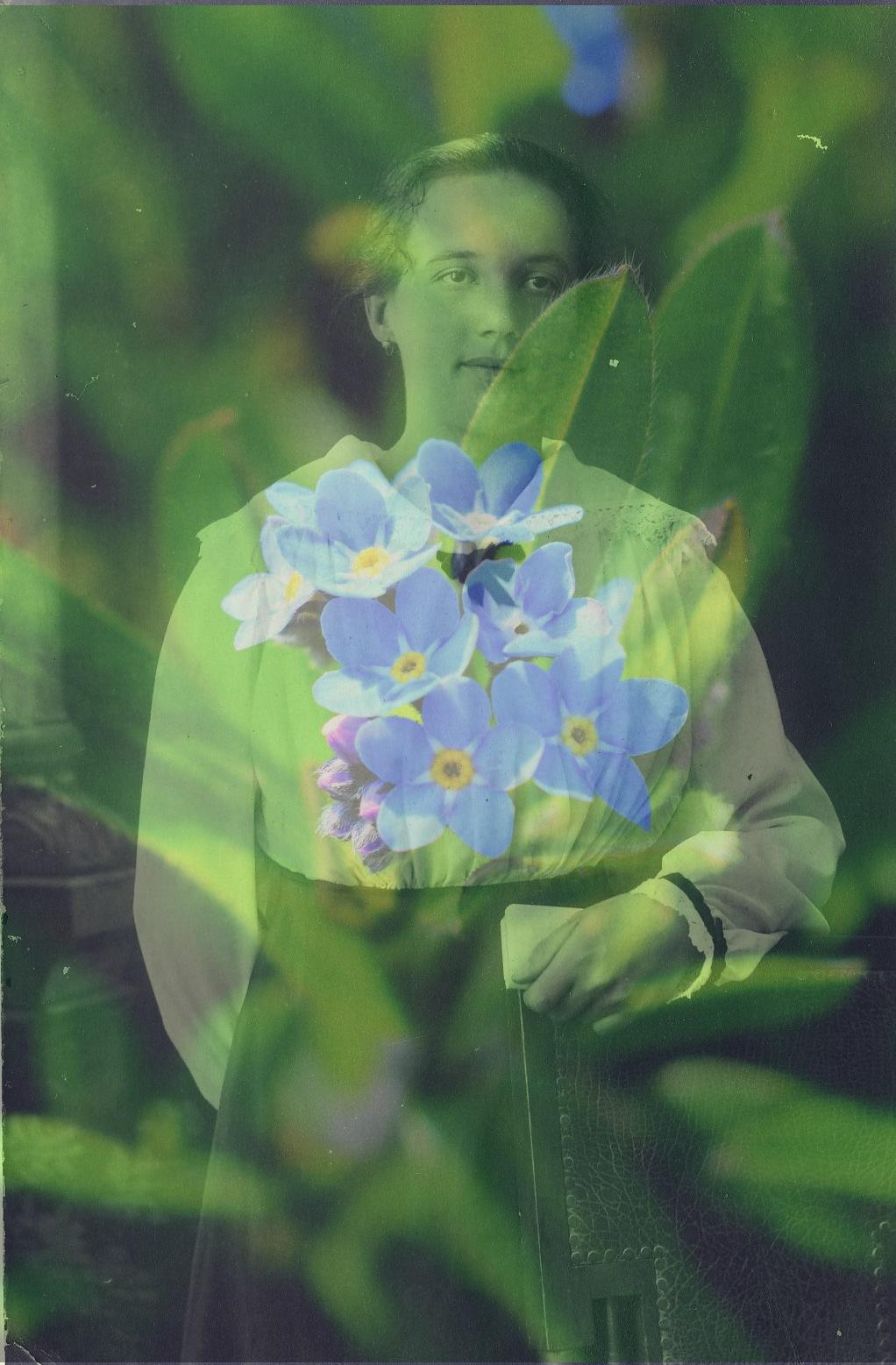 My grandmother by Javorka