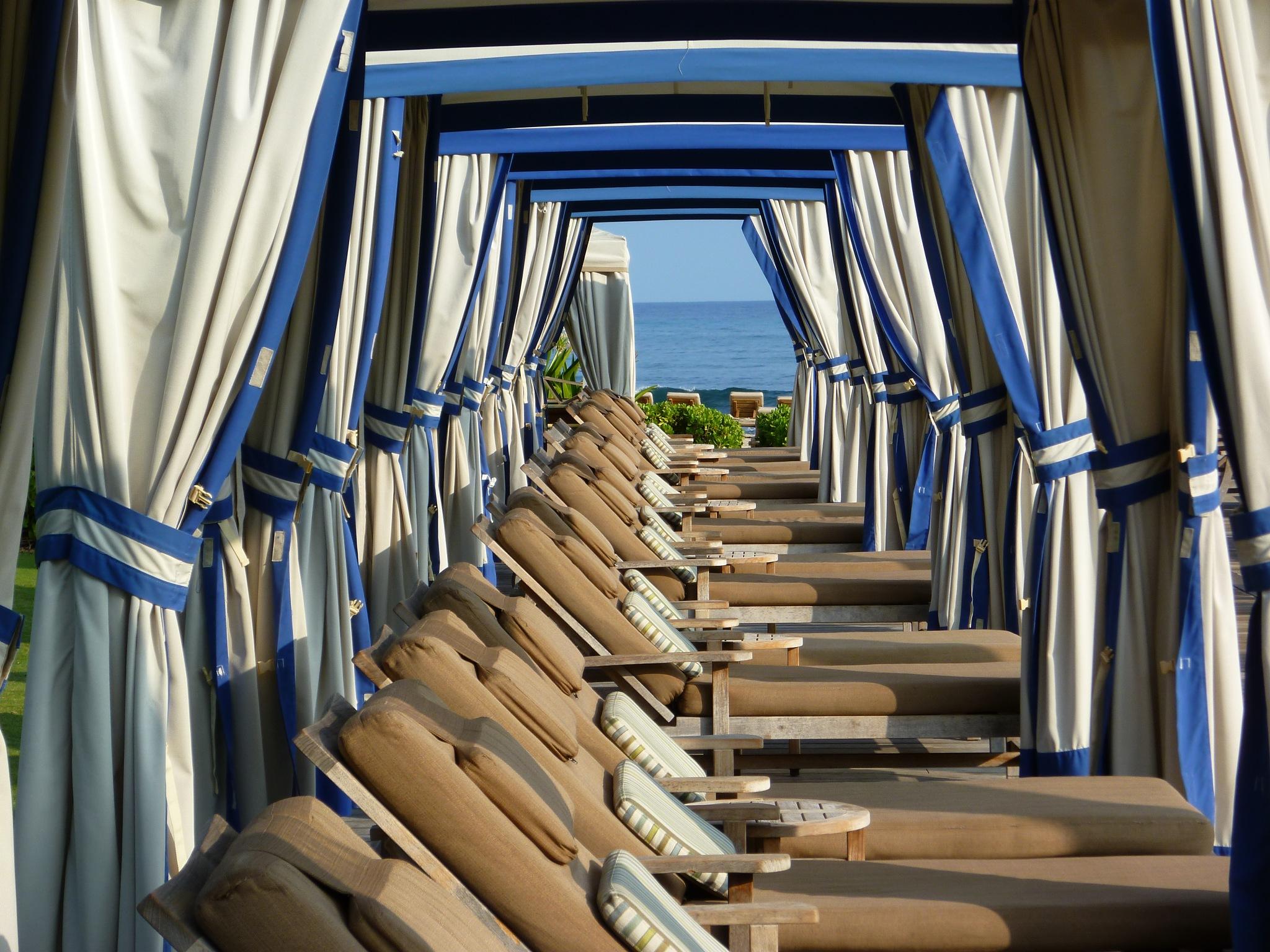 Beach Cabanas by Chandler