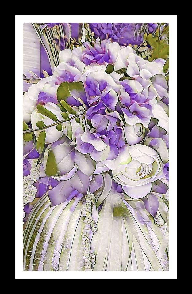 Lilac flowers by Ziya Tatar