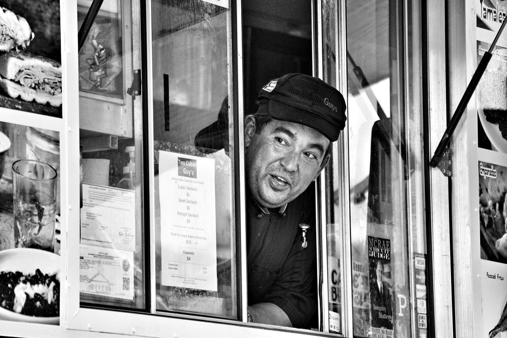 Food Truck Attendant by BoggyRoads