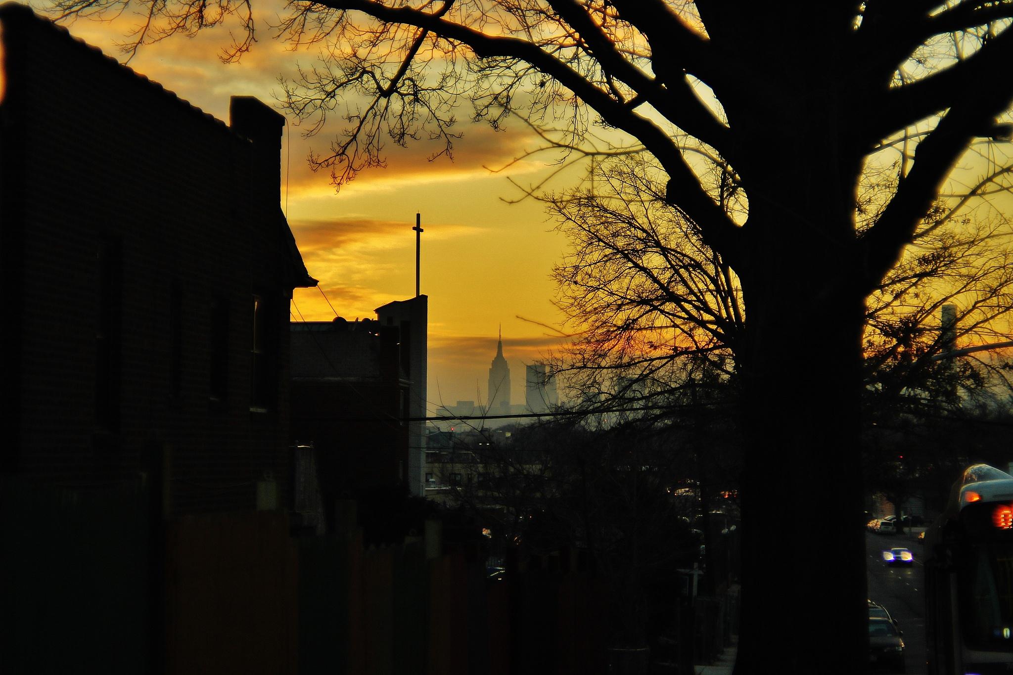 Sunset,, by Liborio Drogo