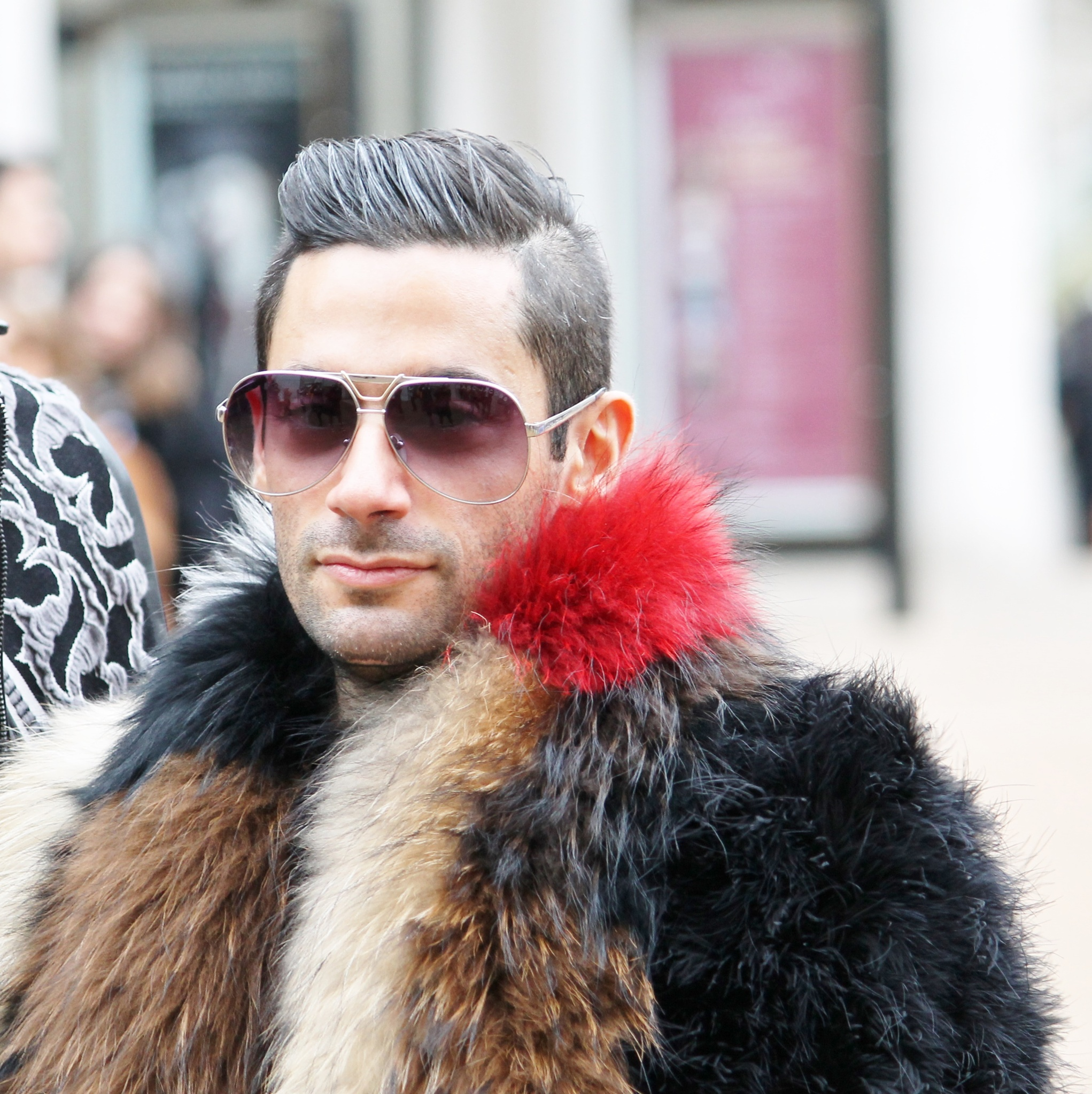 Fashion Faux fur, by Liborio Drogo