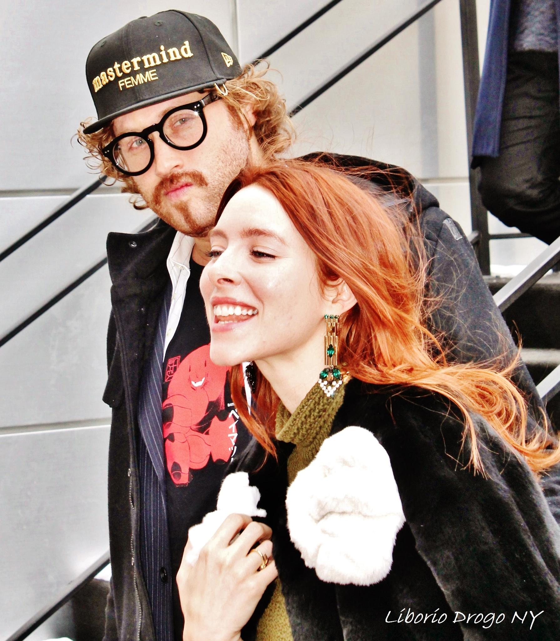NYFW Couple, by Liborio Drogo