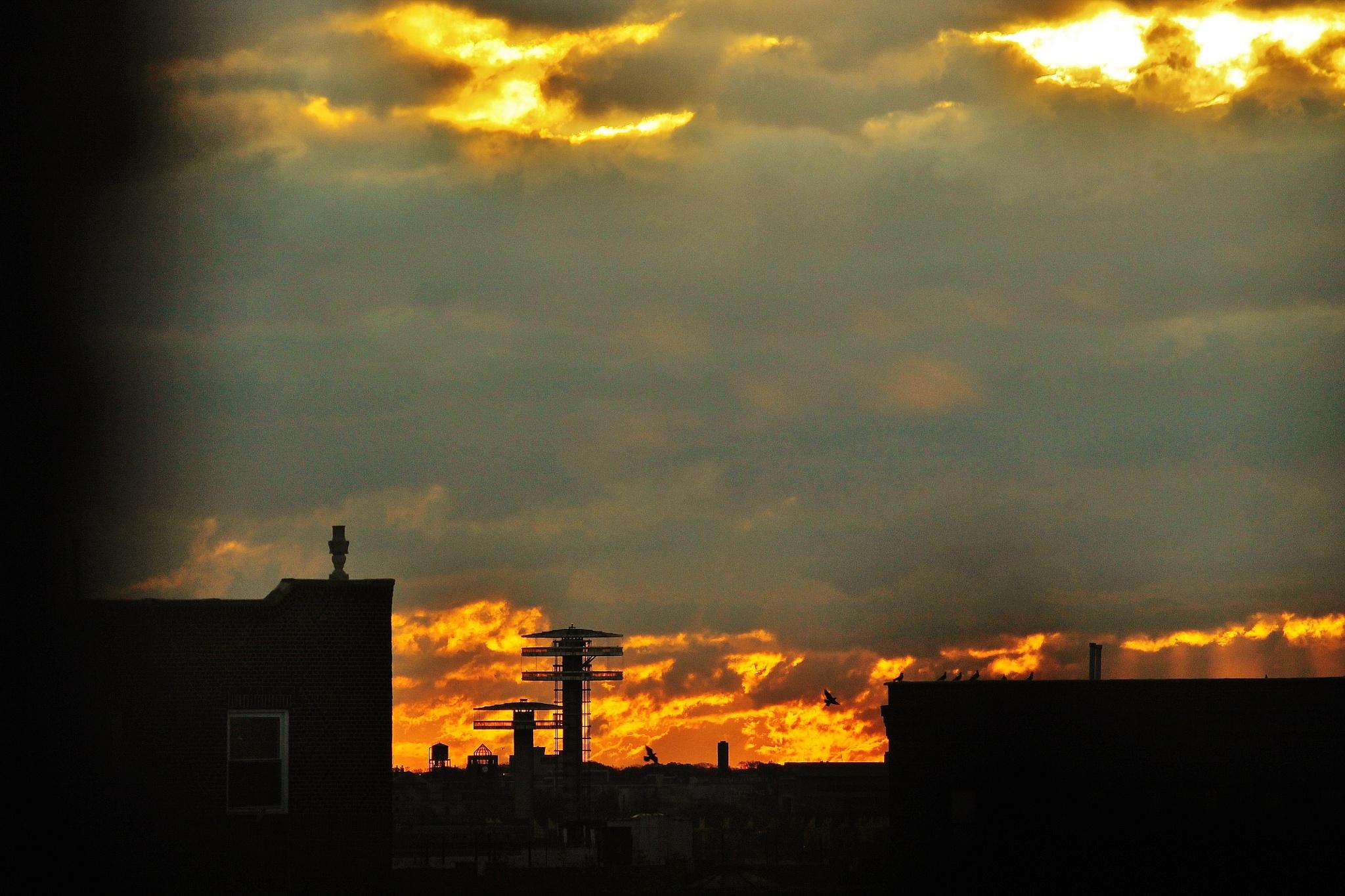 Let the sky burn, by Liborio Drogo
