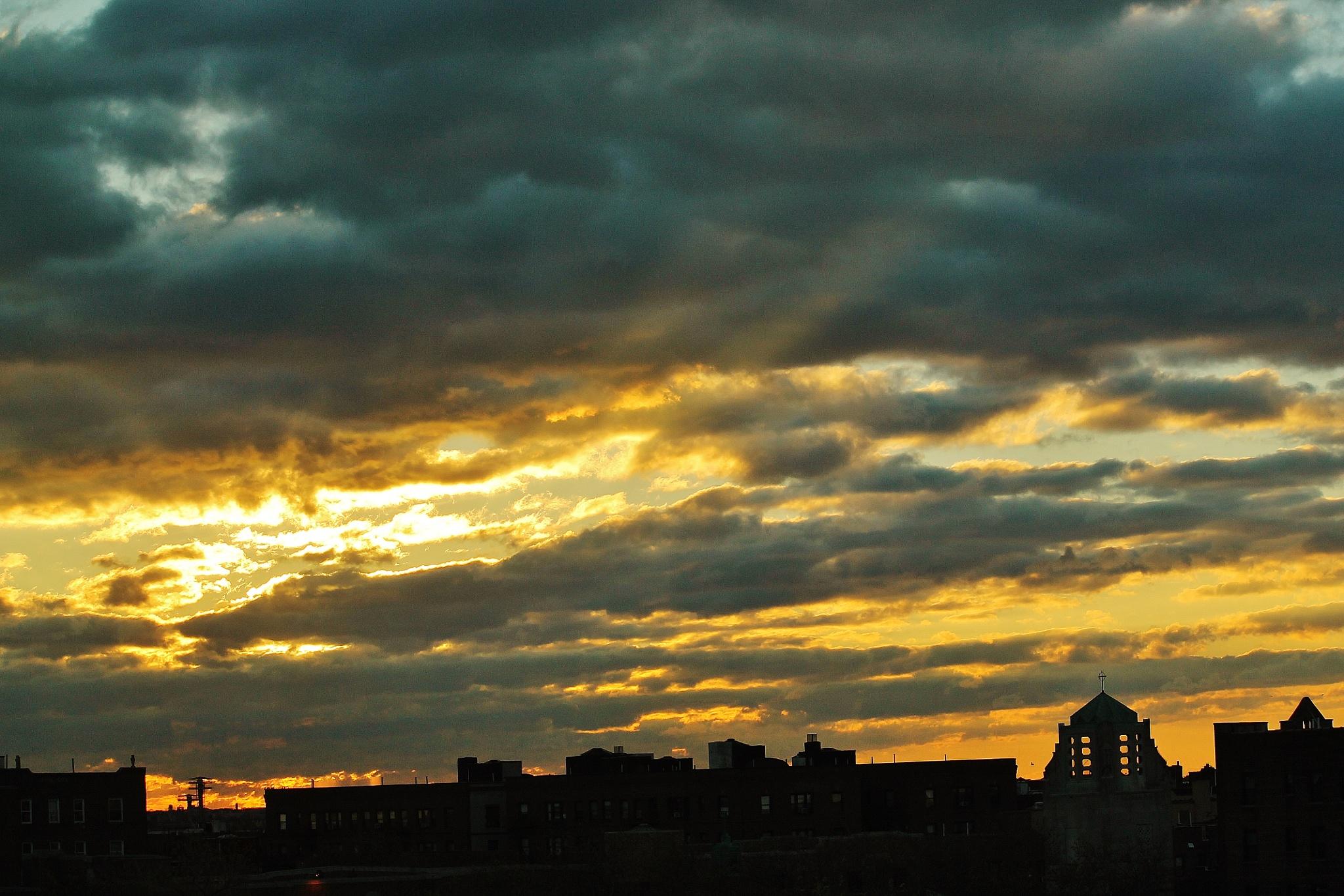 Sunrise NY by Liborio Drogo