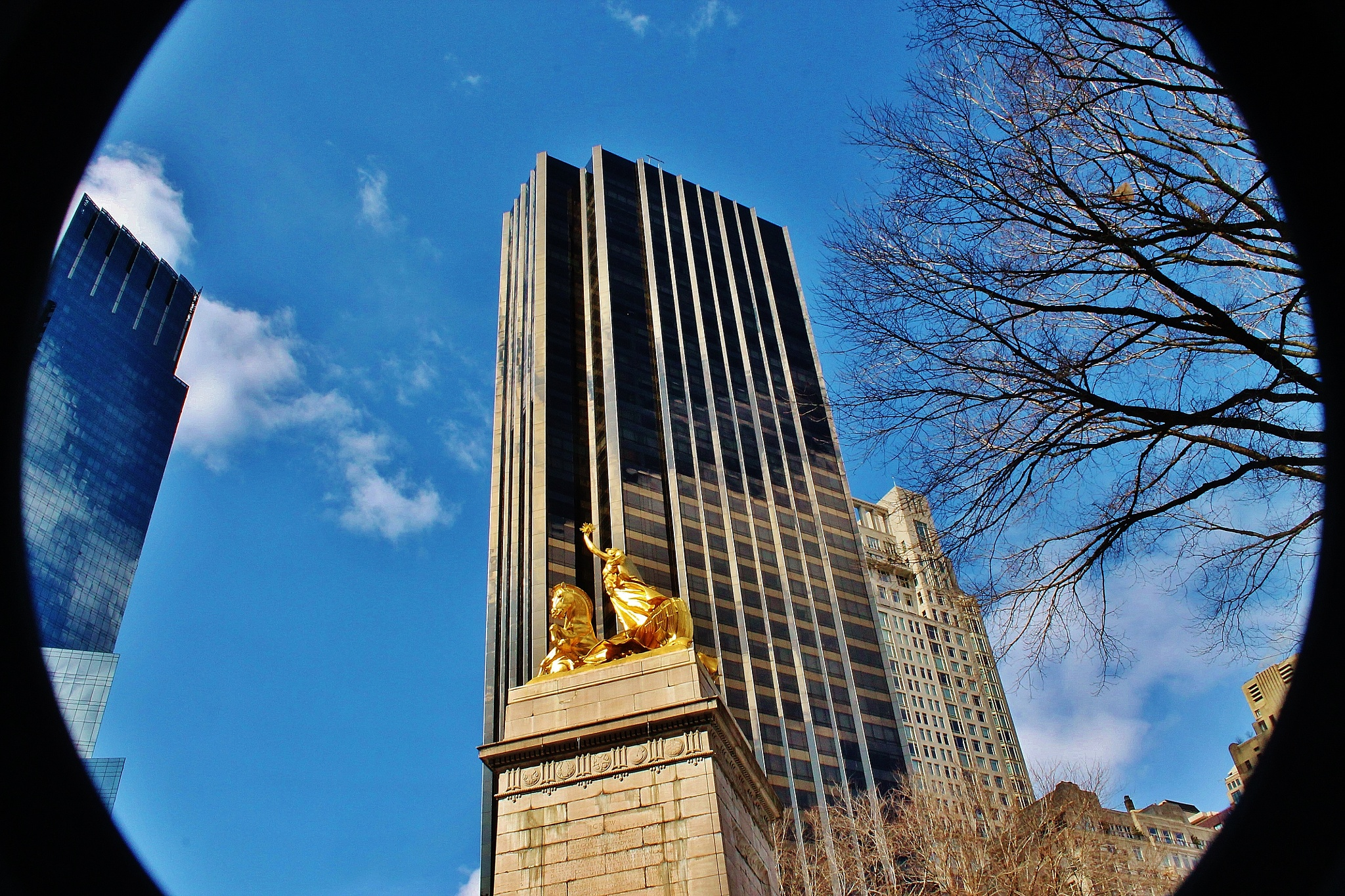 Columbus Circle statue, by Liborio Drogo