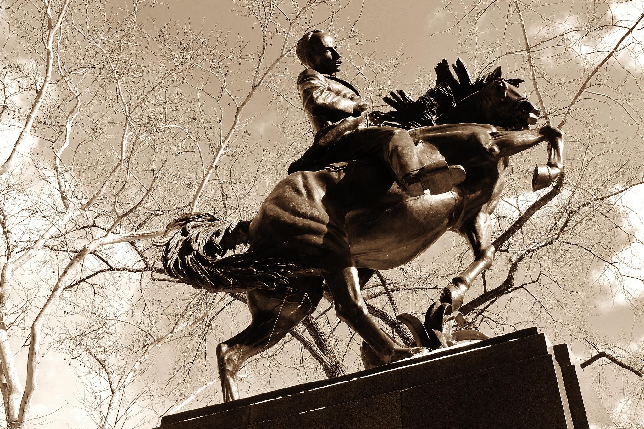 Jose Marti Statue, by Liborio Drogo