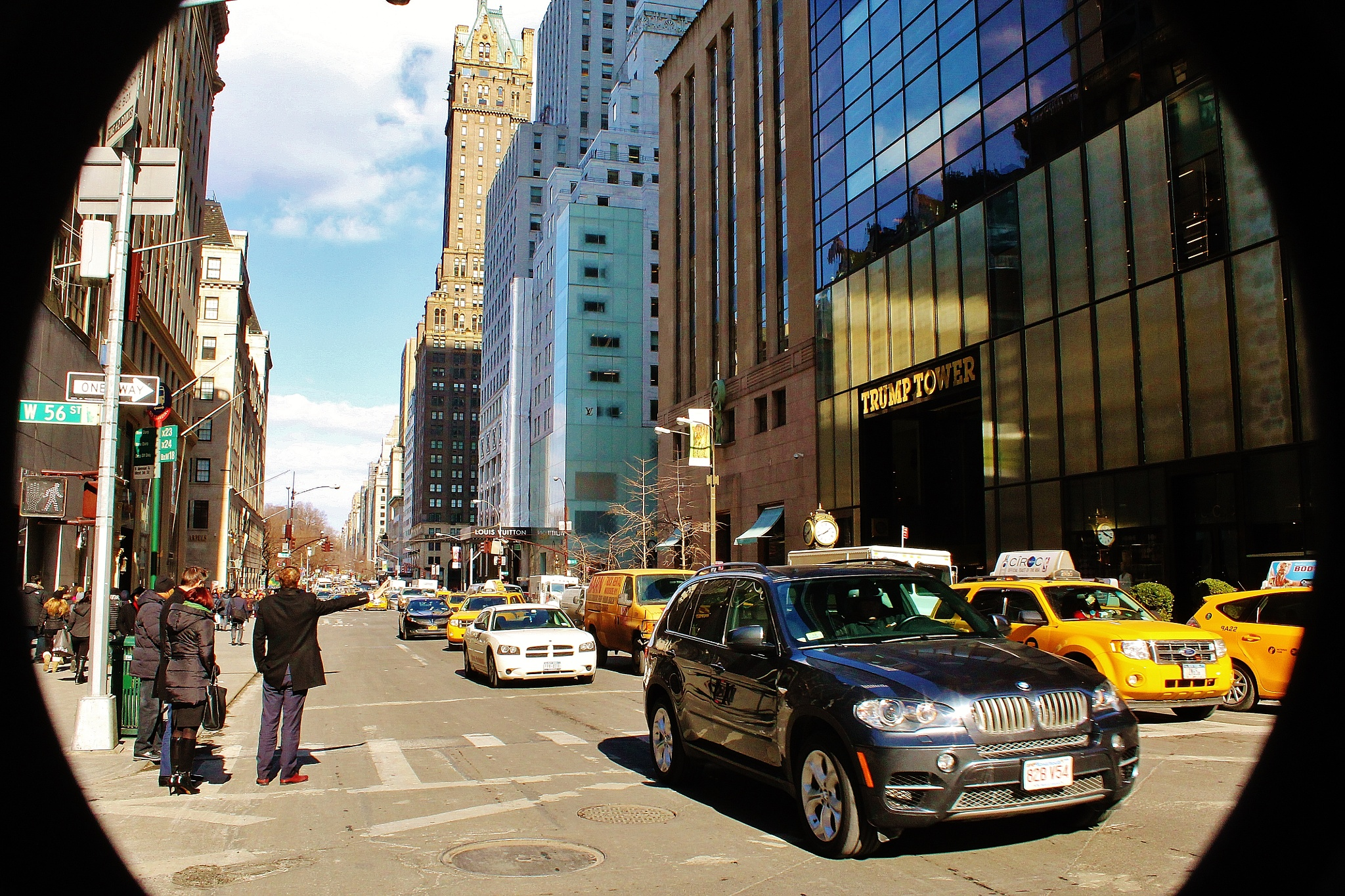 W56 street & 5th Ave by Liborio Drogo