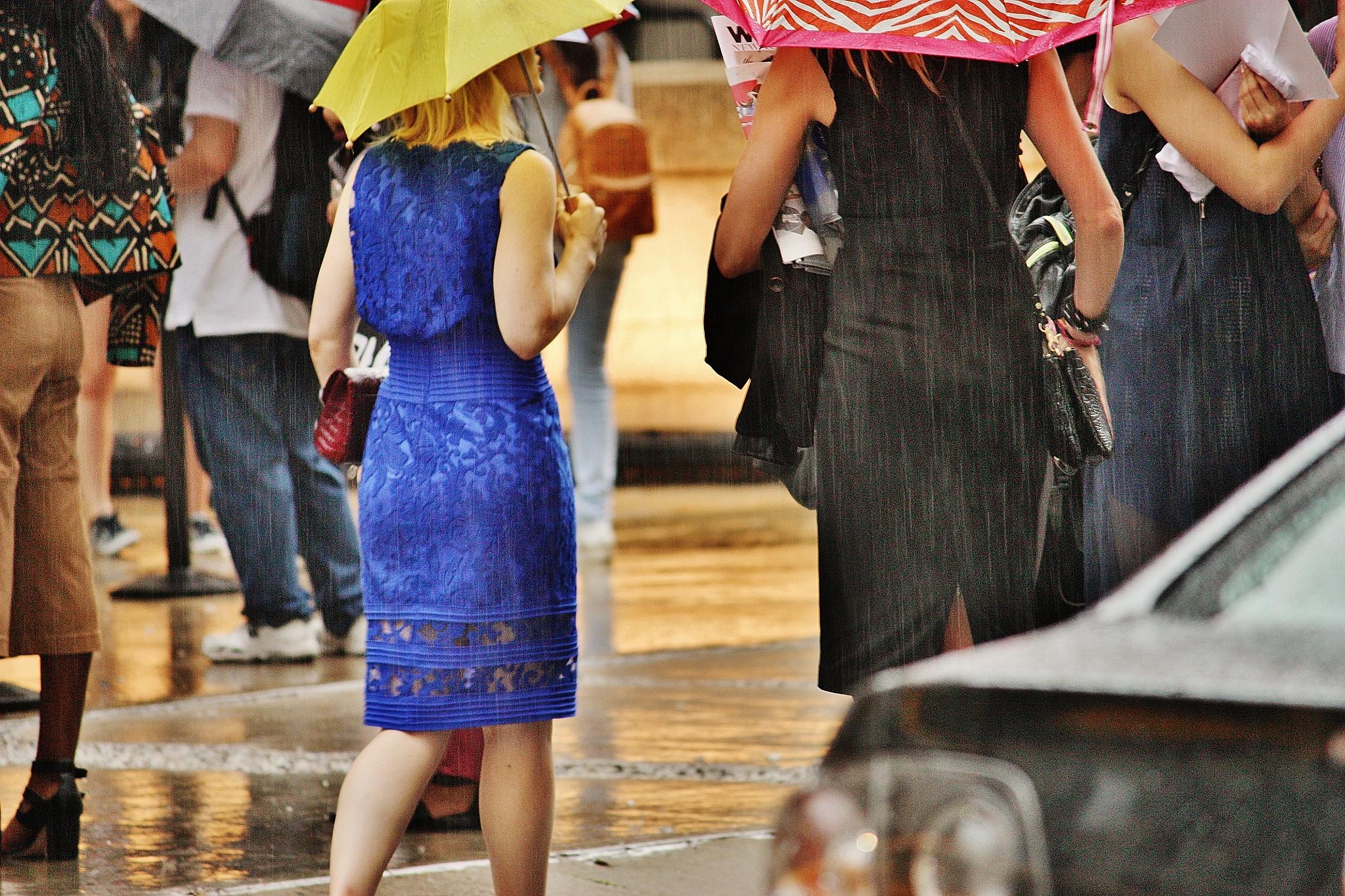 NYFW raining day, by Liborio Drogo