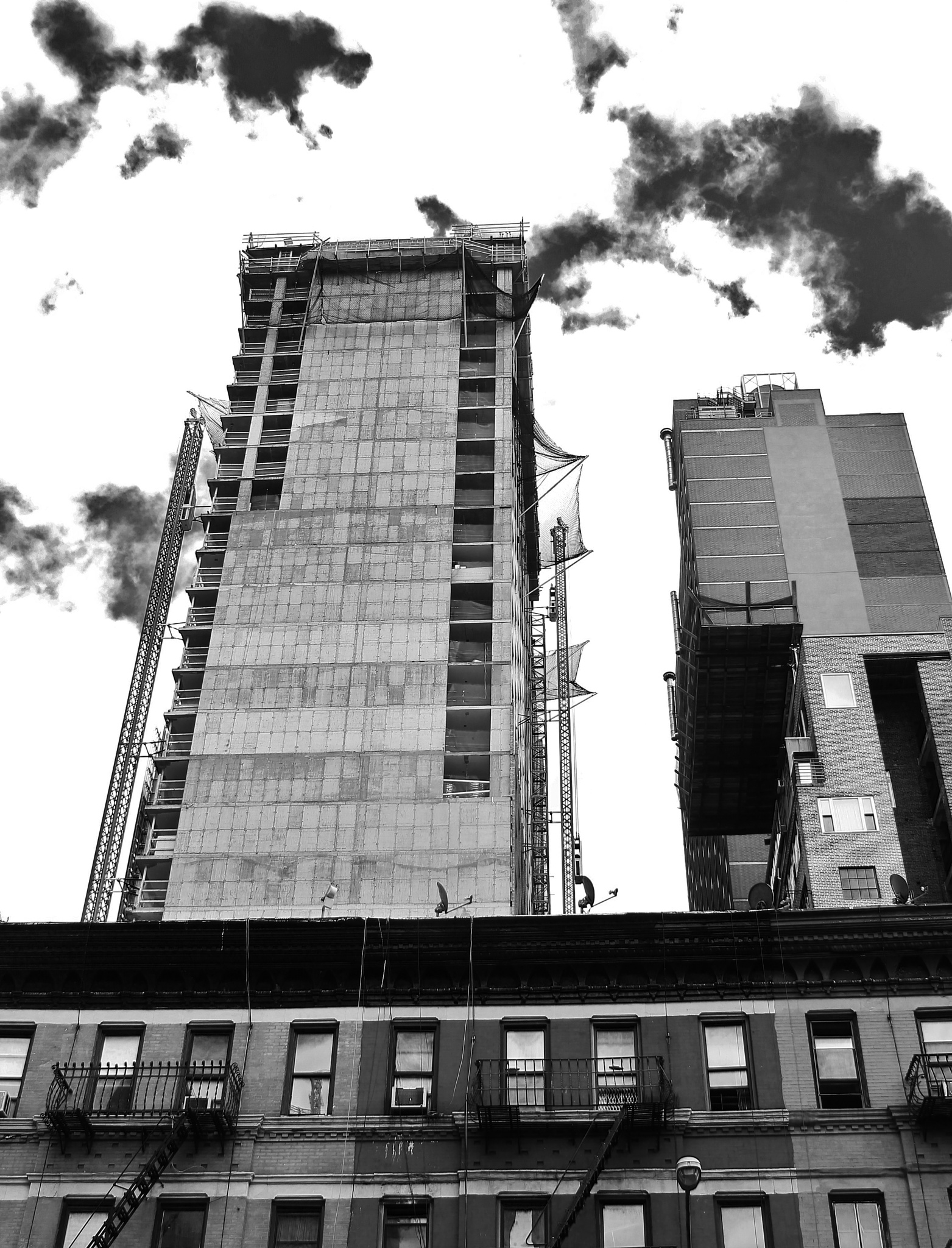 Manhattan the old & the new, by Liborio Drogo