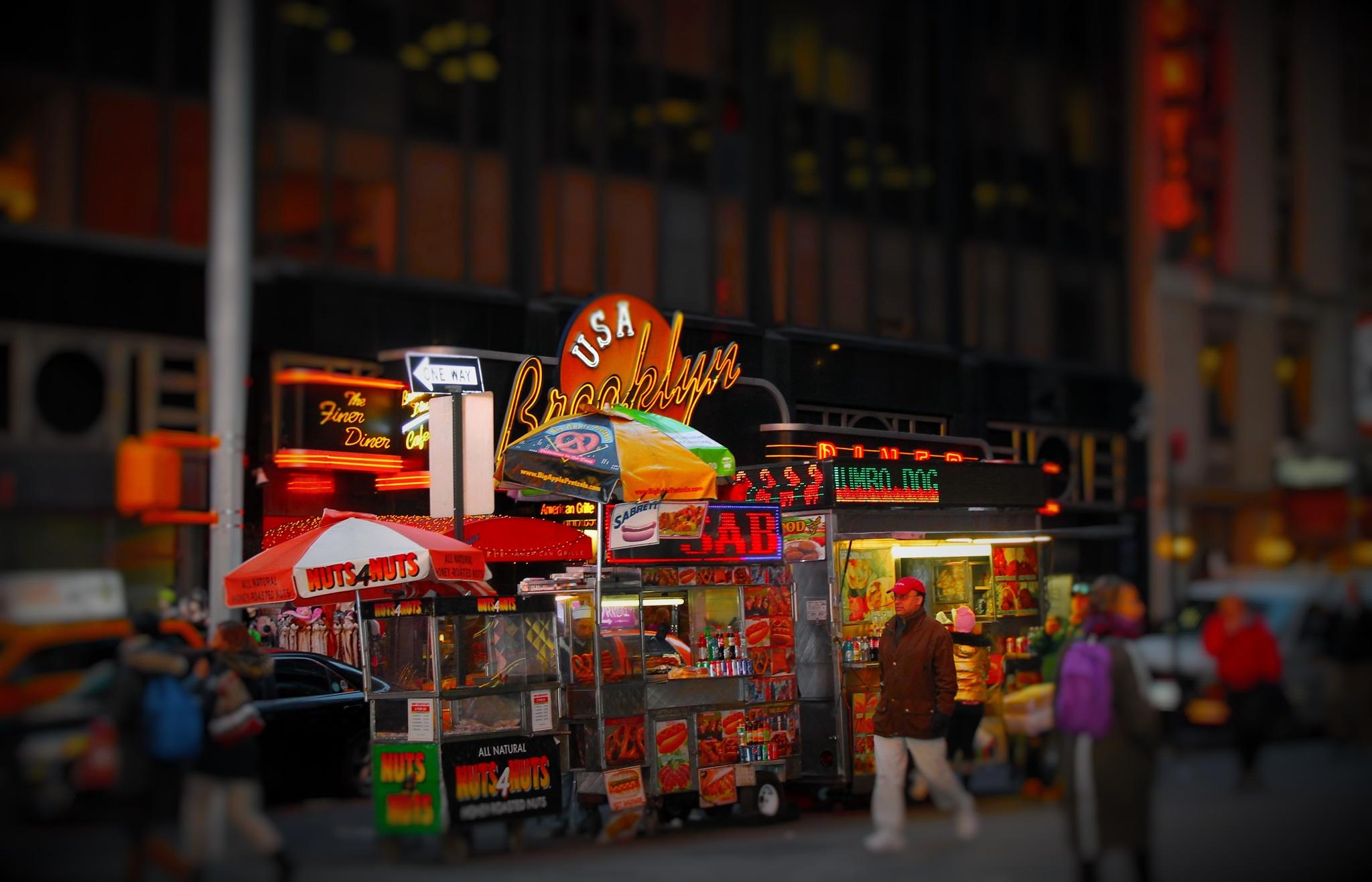 Street Food Vendors , by Liborio Drogo