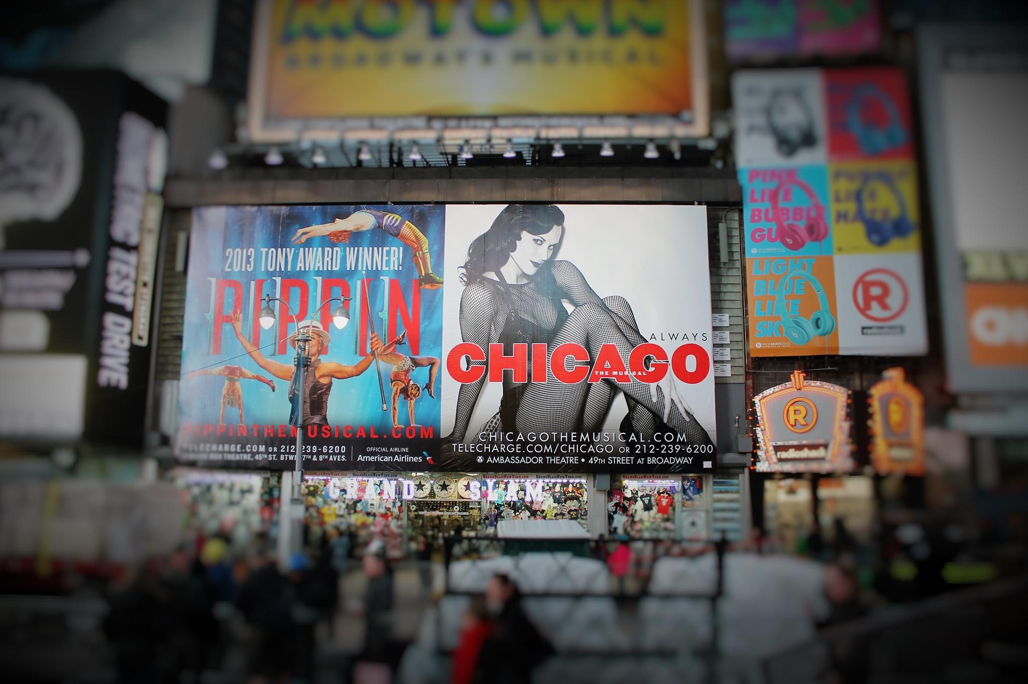 CHICAGO on Broadway,,, by Liborio Drogo