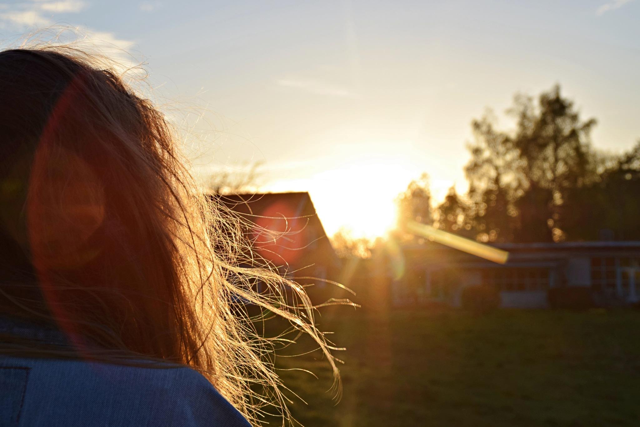Sunset #2 by Mille Vinkel Simonsen