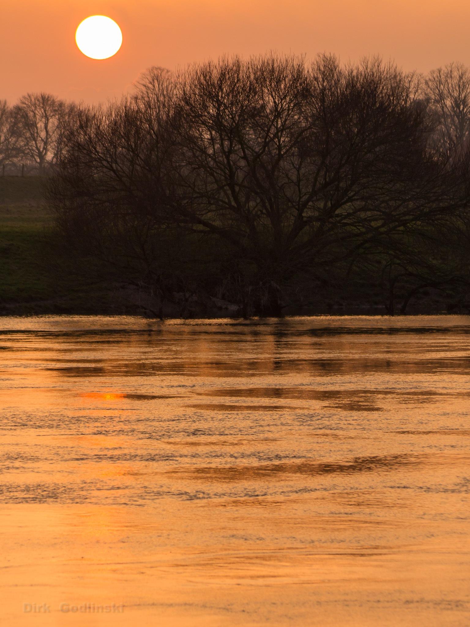 Golden River by Dirk Godlinski