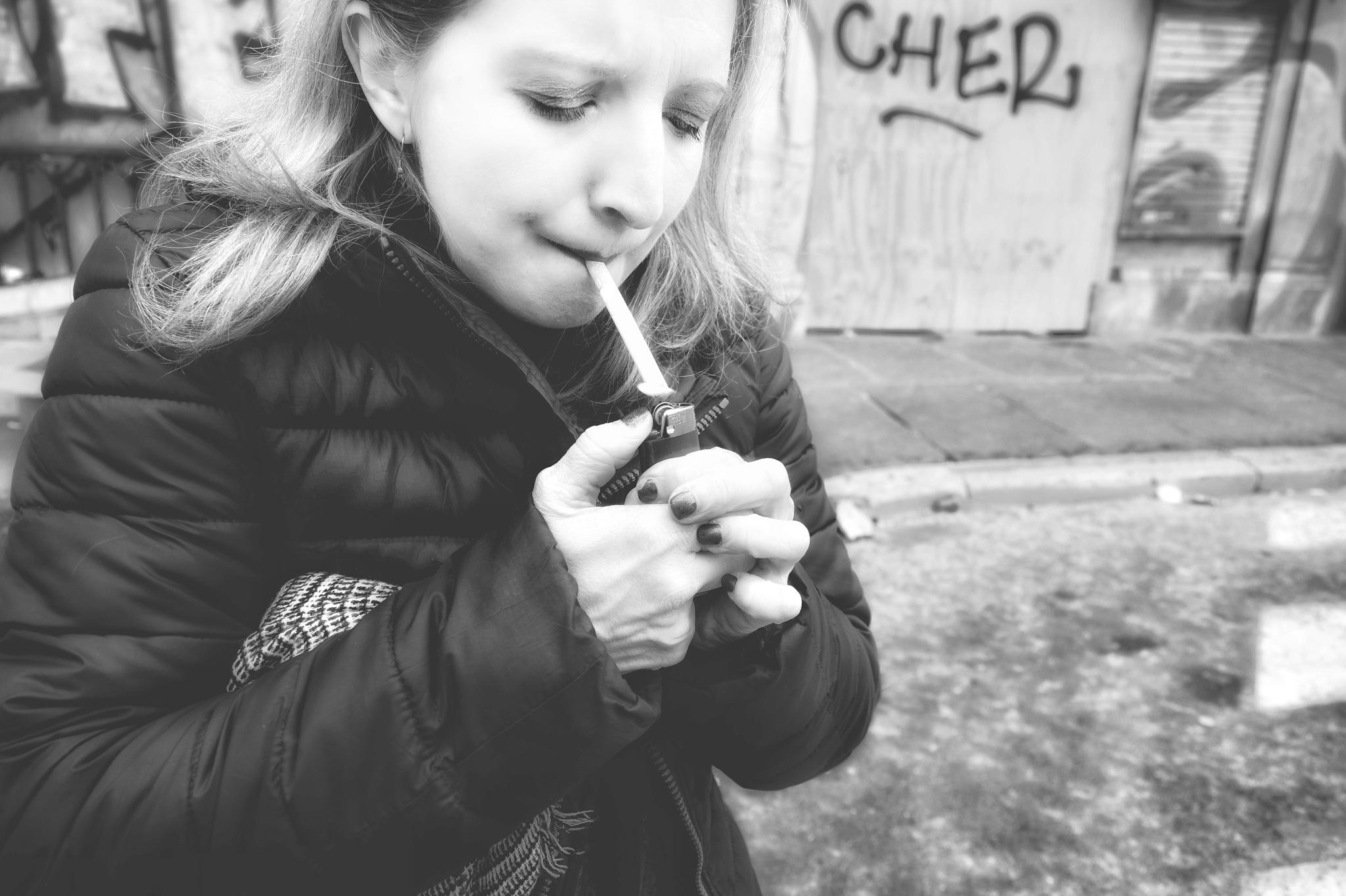 quit smoking honey... by Davide Dalla Giustina
