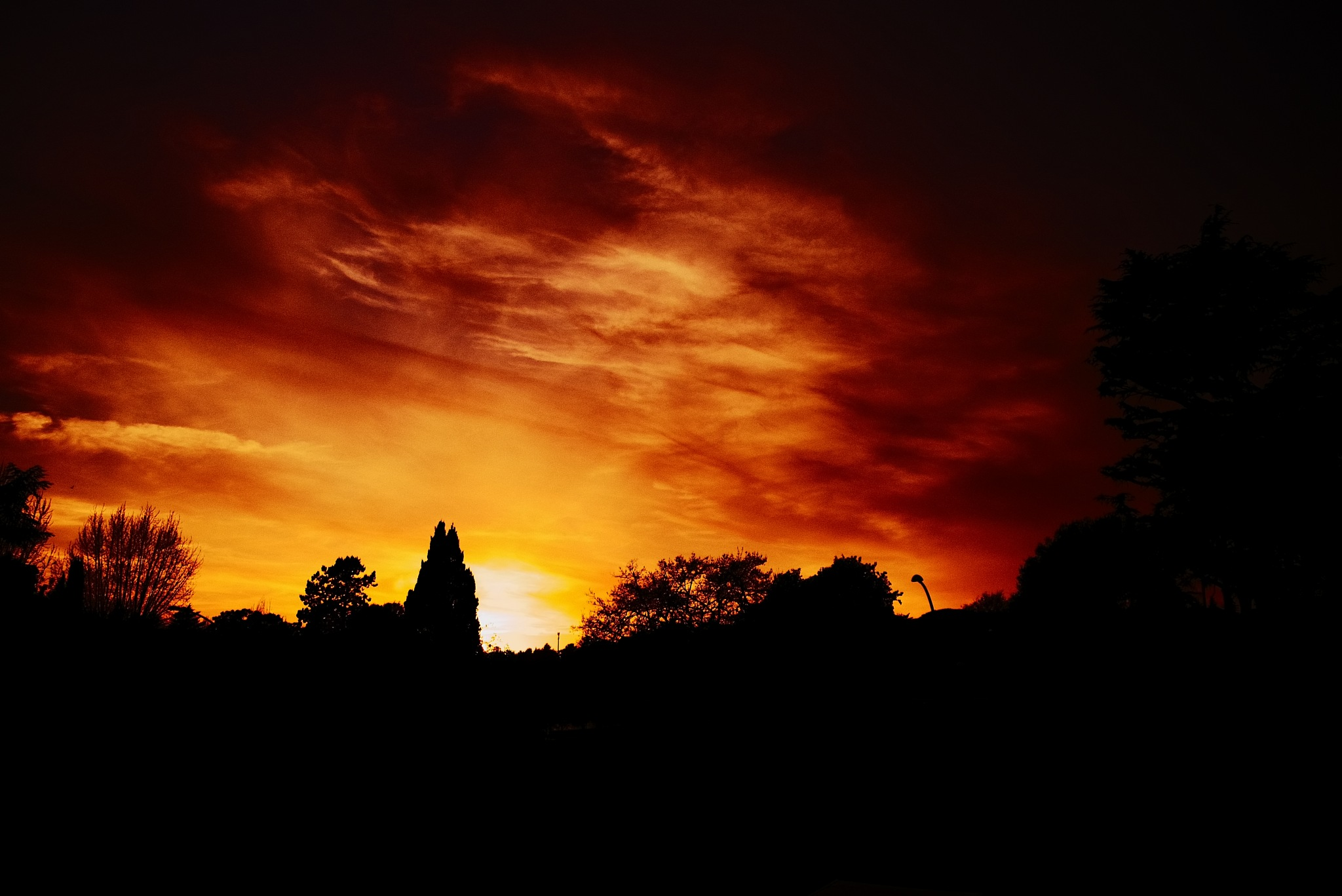 warm dusk by Davide Dalla Giustina