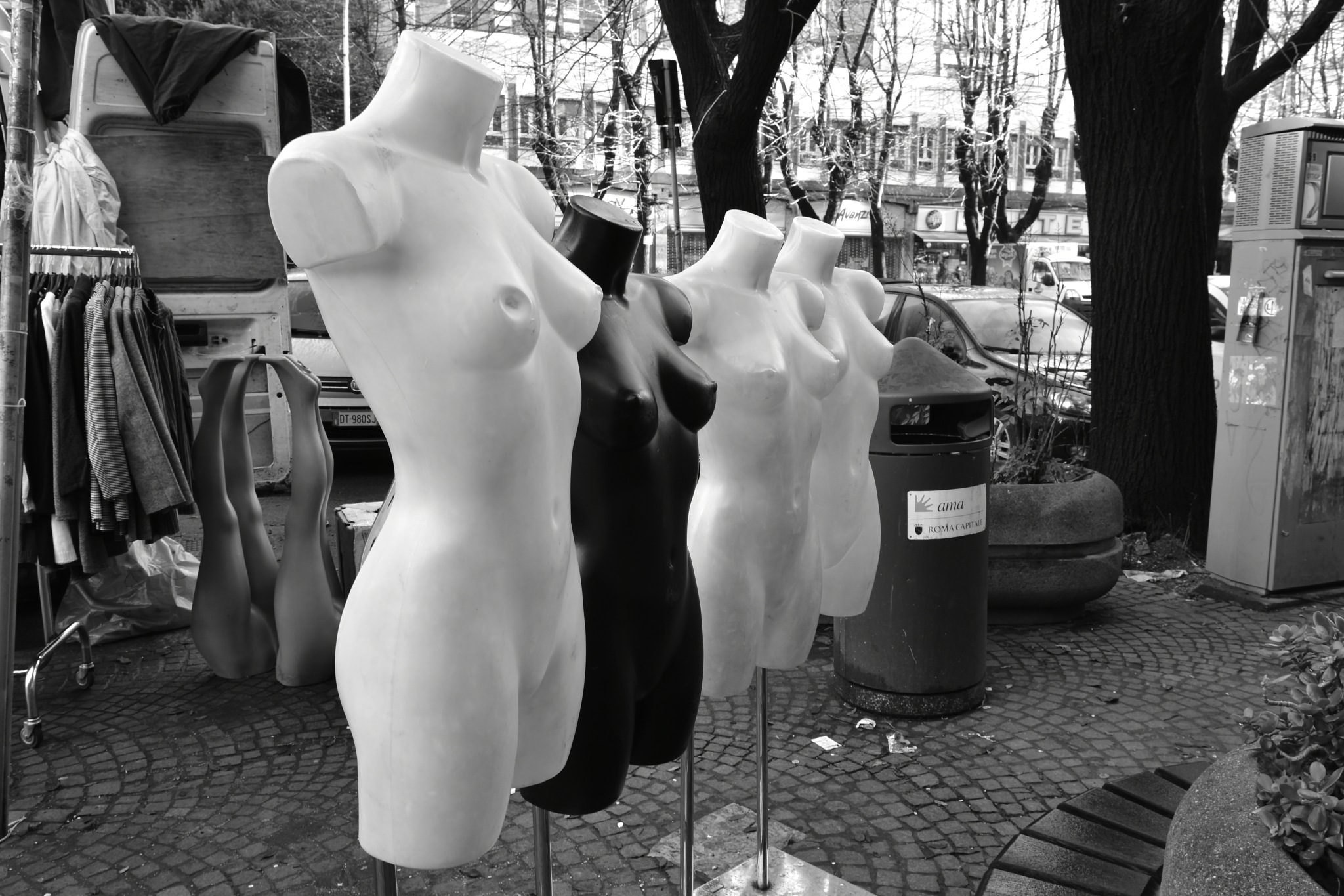 Mannequin challenge against racism by Davide Dalla Giustina