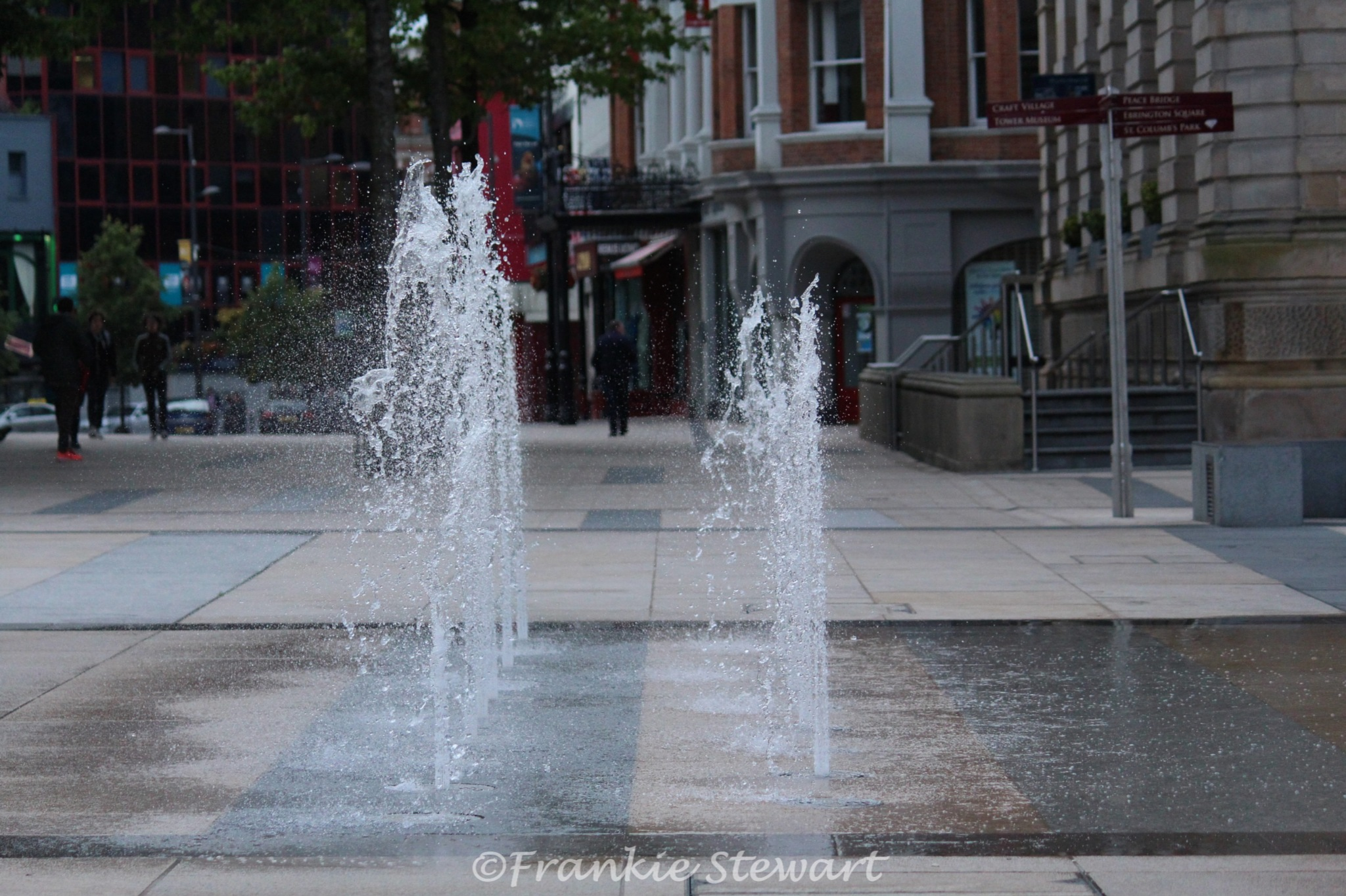 Fountain in the Square by FrankieS