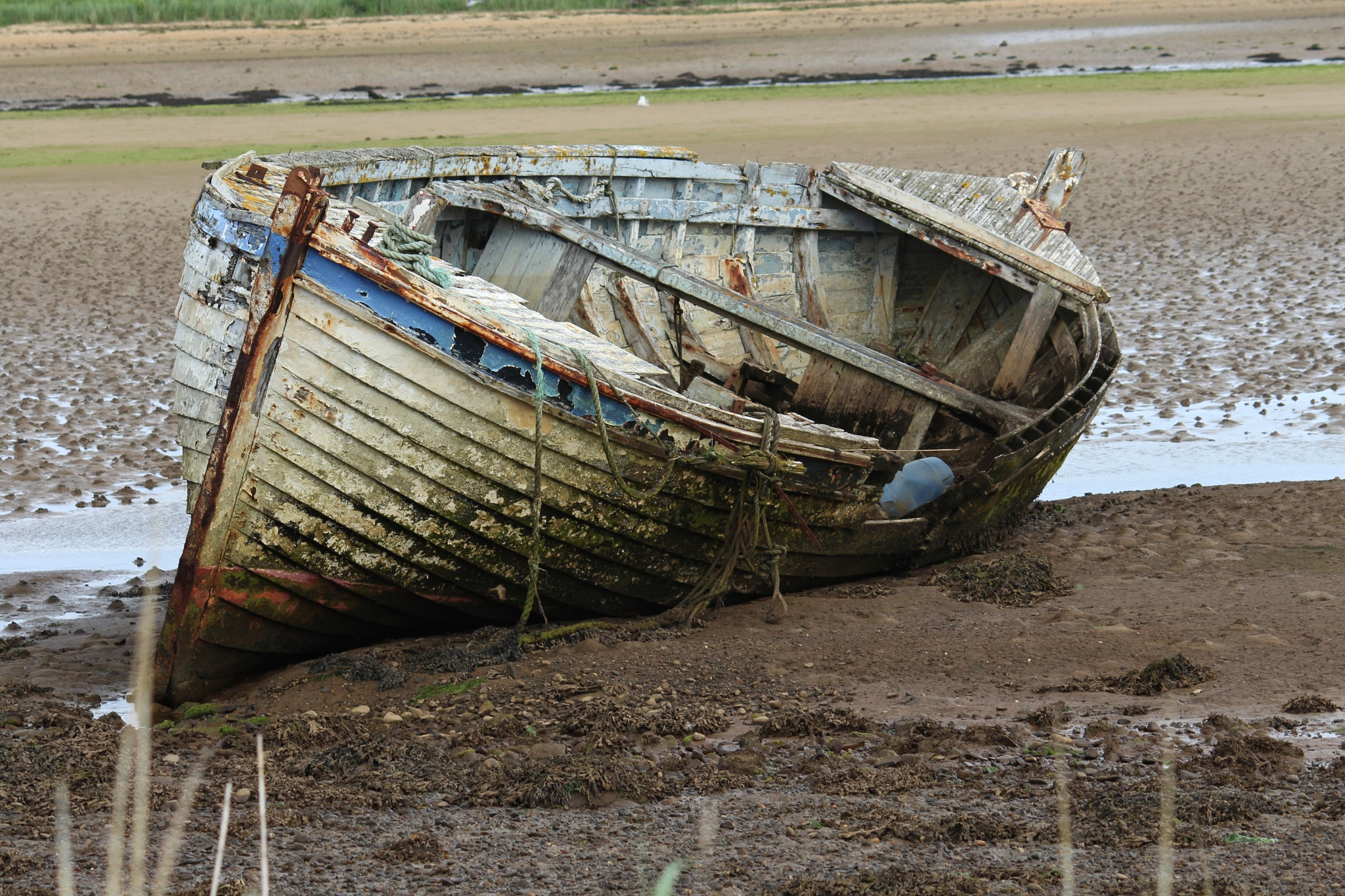 Close up of ruined boat by FrankieS