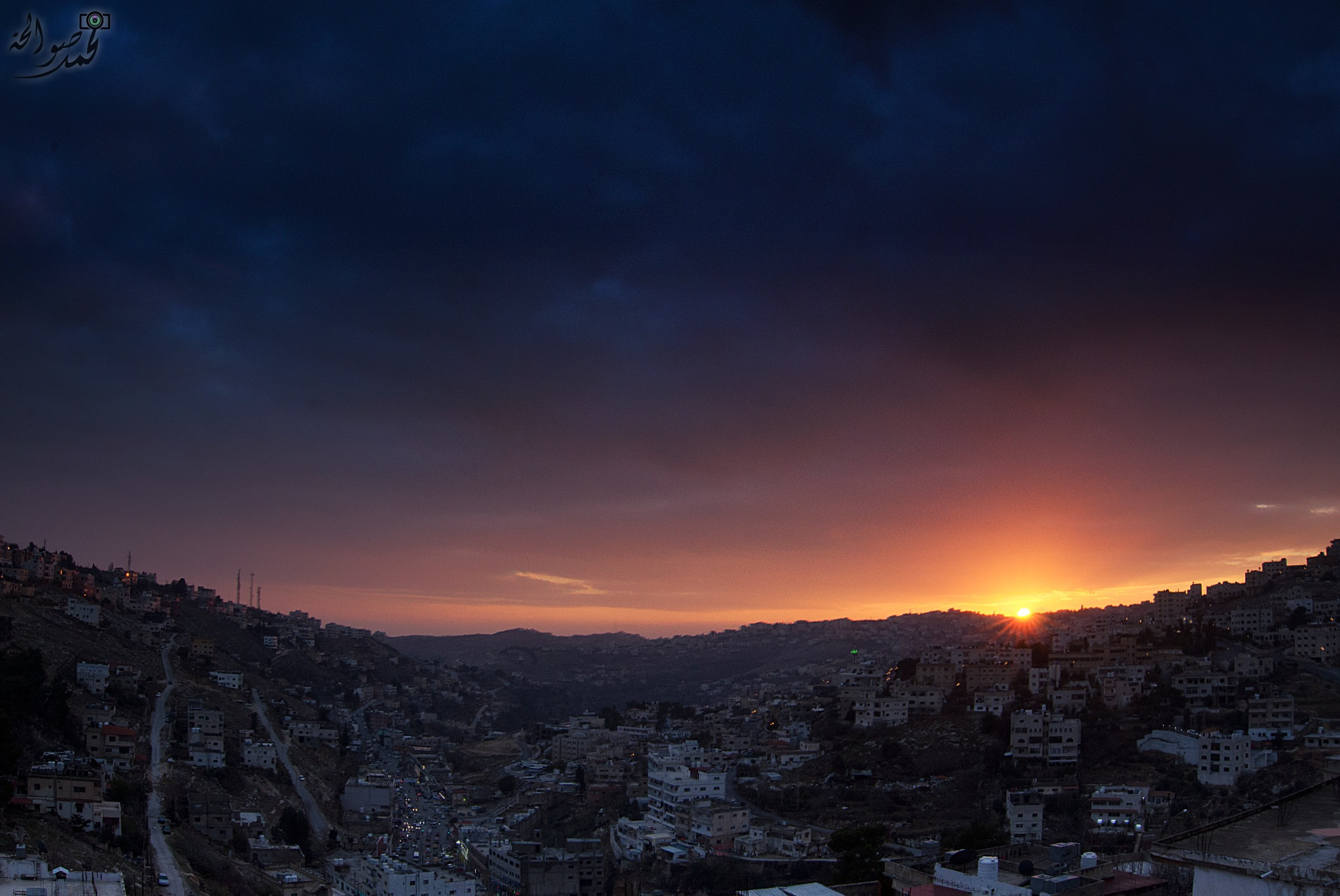 Lovely sunset by Mohammad Sawalha