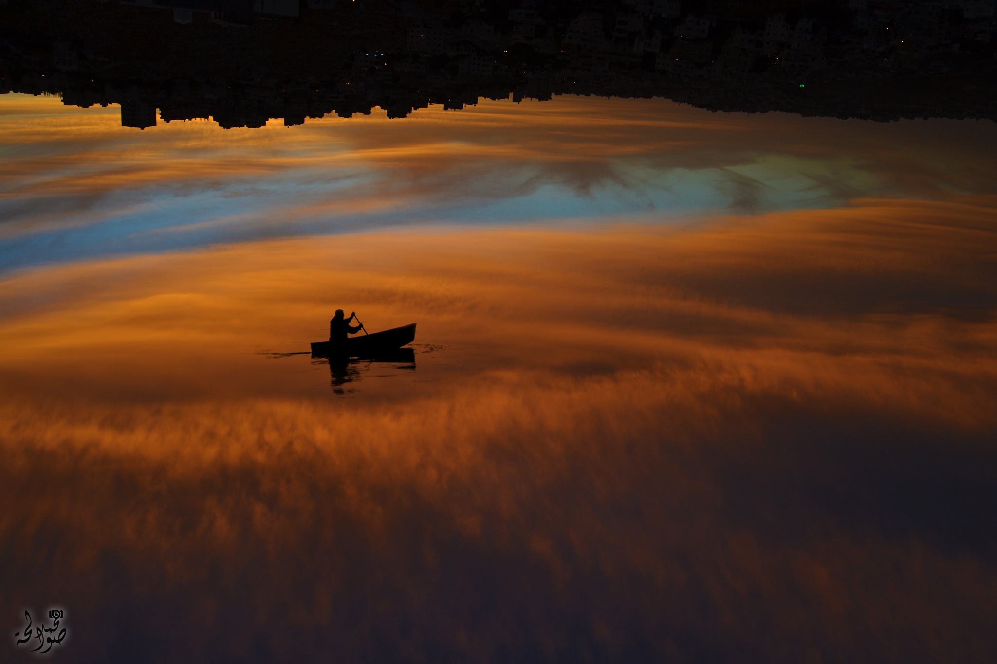 Sailing in the sky by Mohammad Sawalha