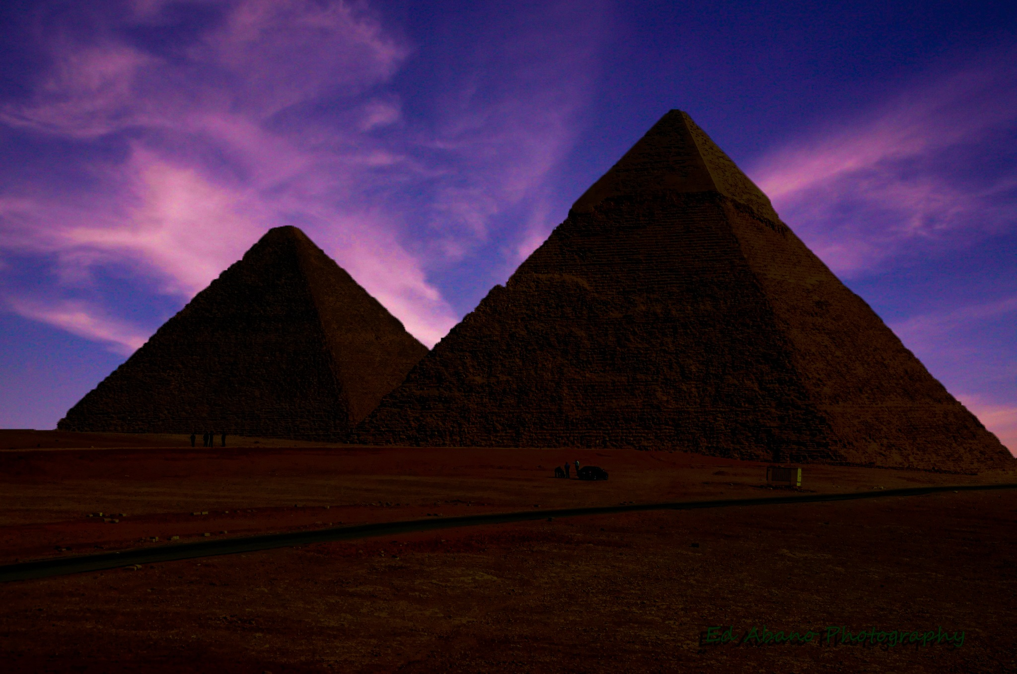 Giza by Ed Abano