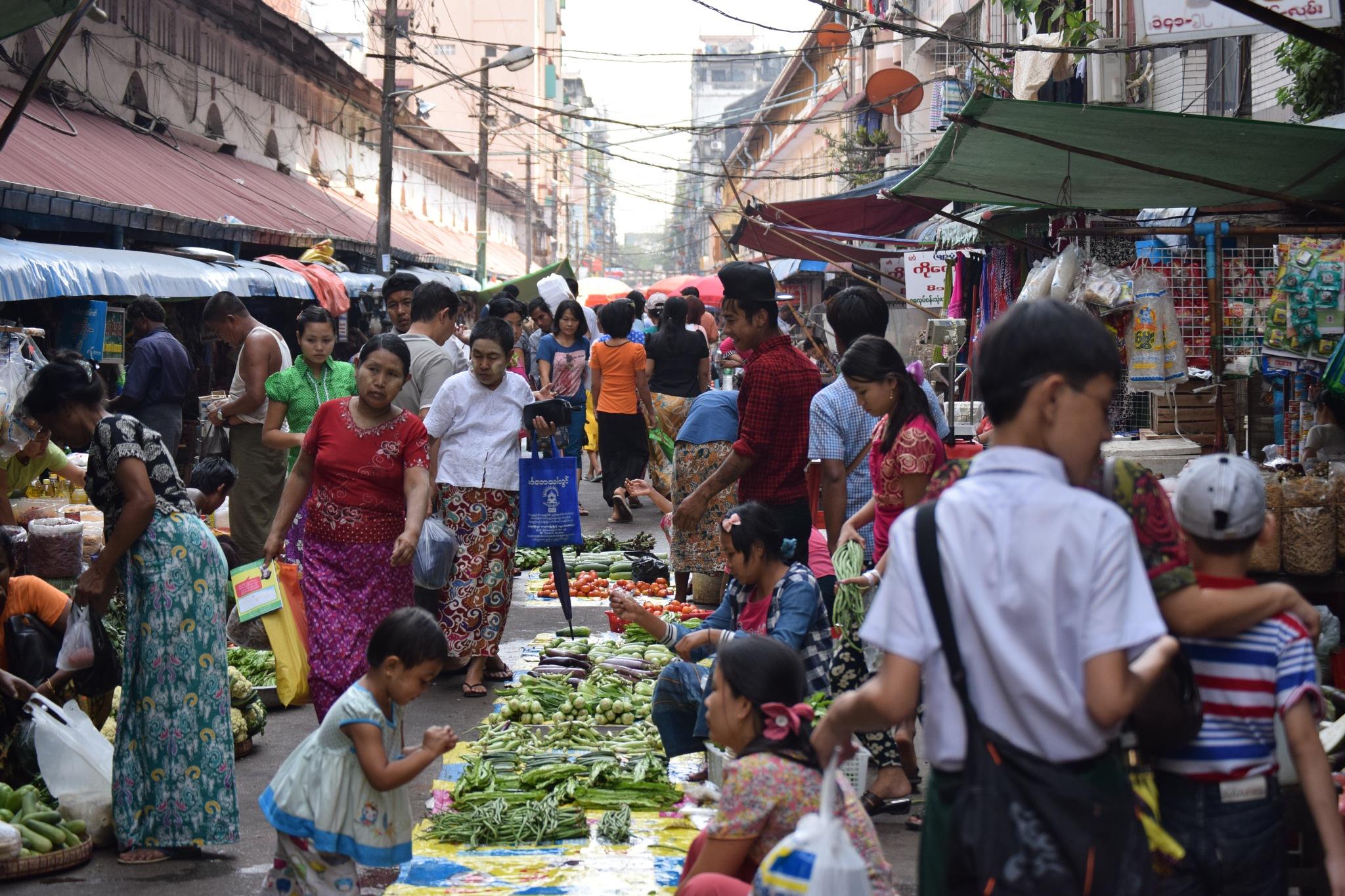 Claustrophobia in the Market by Jason Murphy