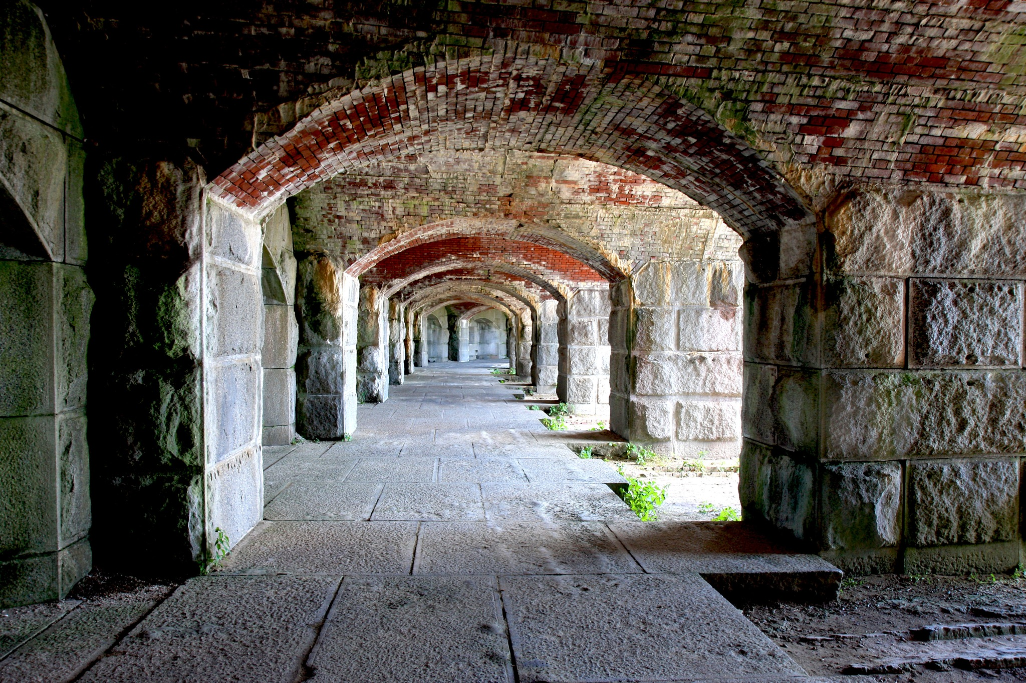 Fort Popham by Wendy Farrington
