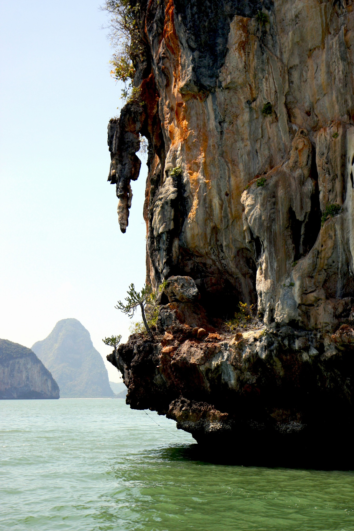 Unique Hong in Phang Nga Bay, Thailand by Wendy Farrington