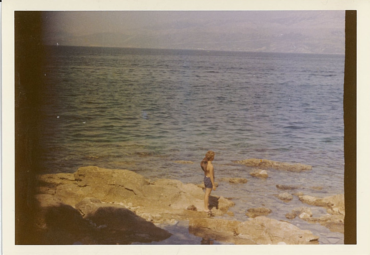 The boy and the sea 01 (analog) by TheHeavenlyTeaDance