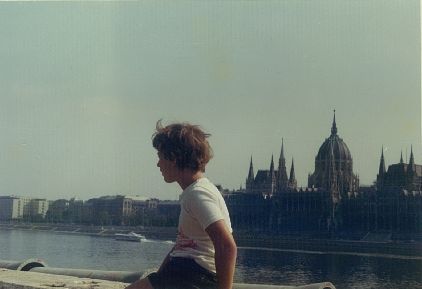 My son, Budapest late 1970's (analog) by TheHeavenlyTeaDance