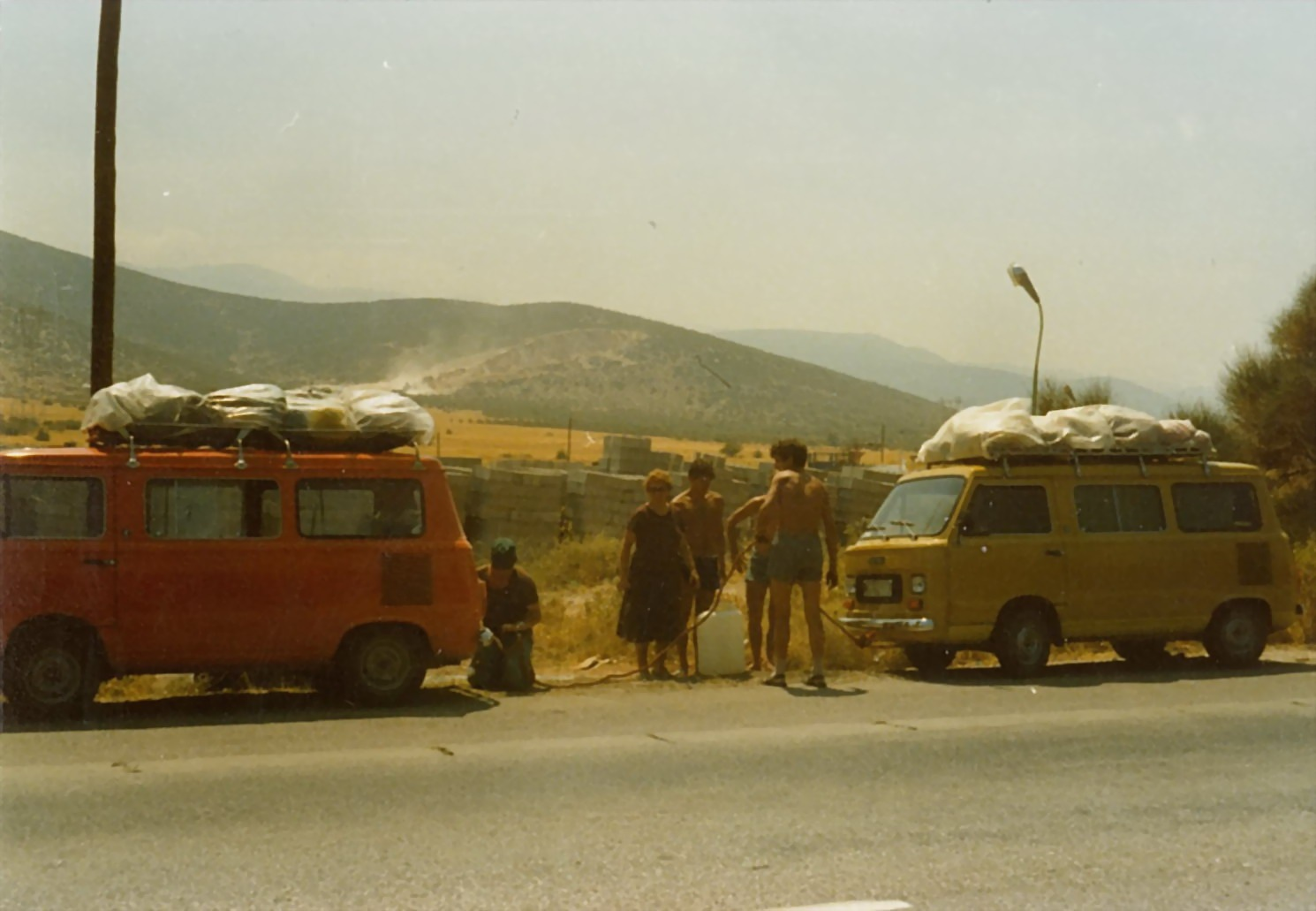 Travellers (analog) by TheHeavenlyTeaDance