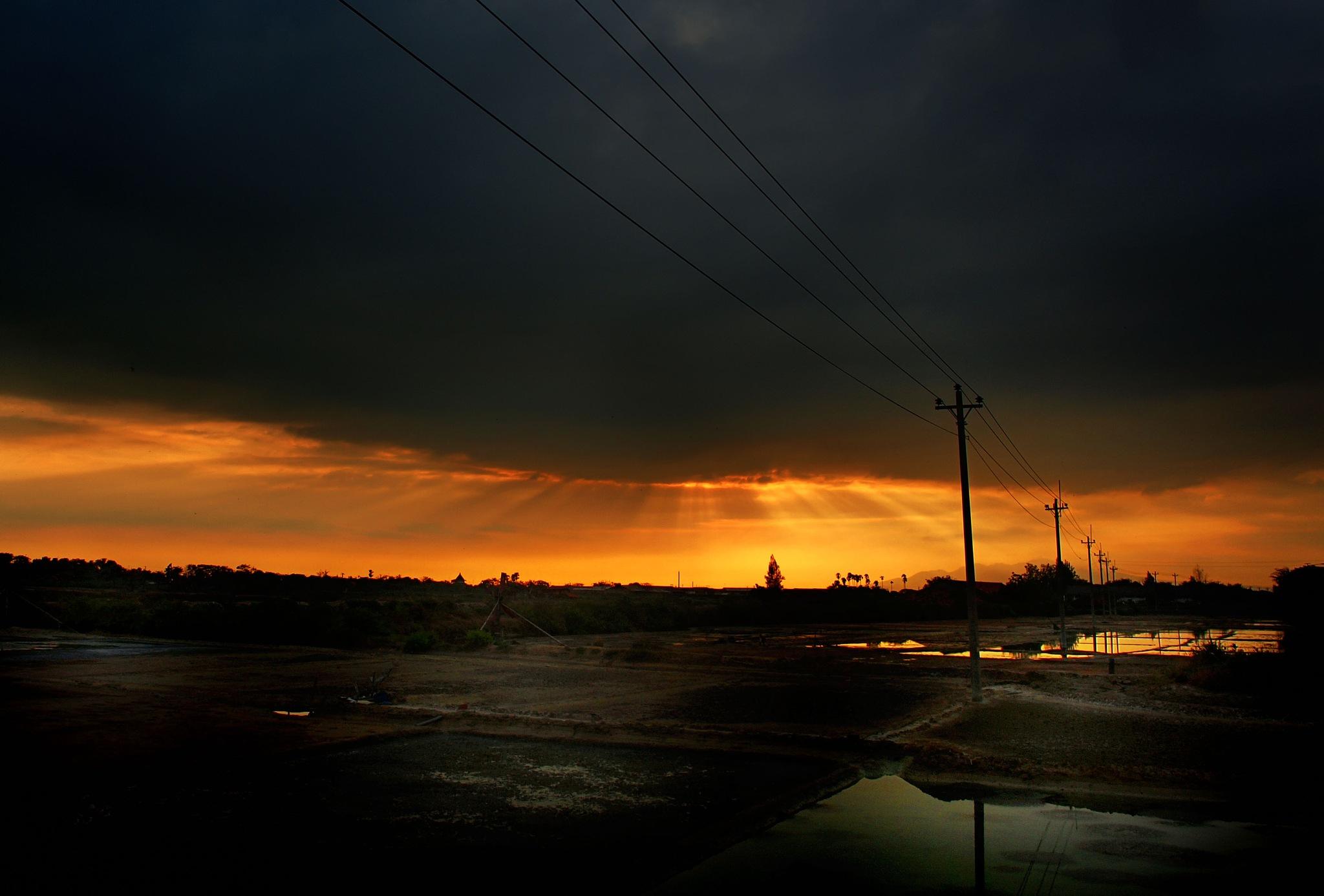 sunset by banyugeni154
