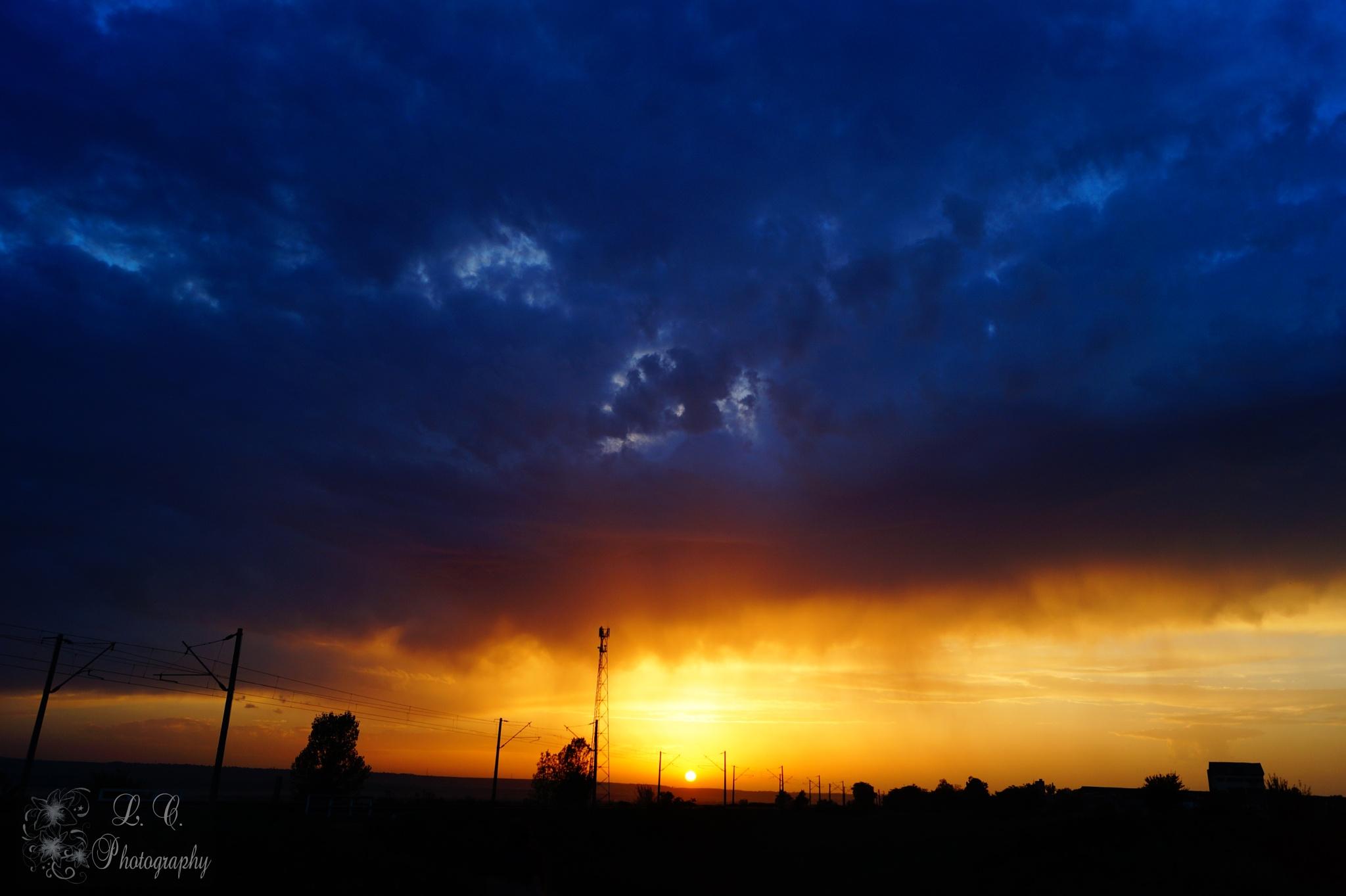 september sunset by Cristina Loghin