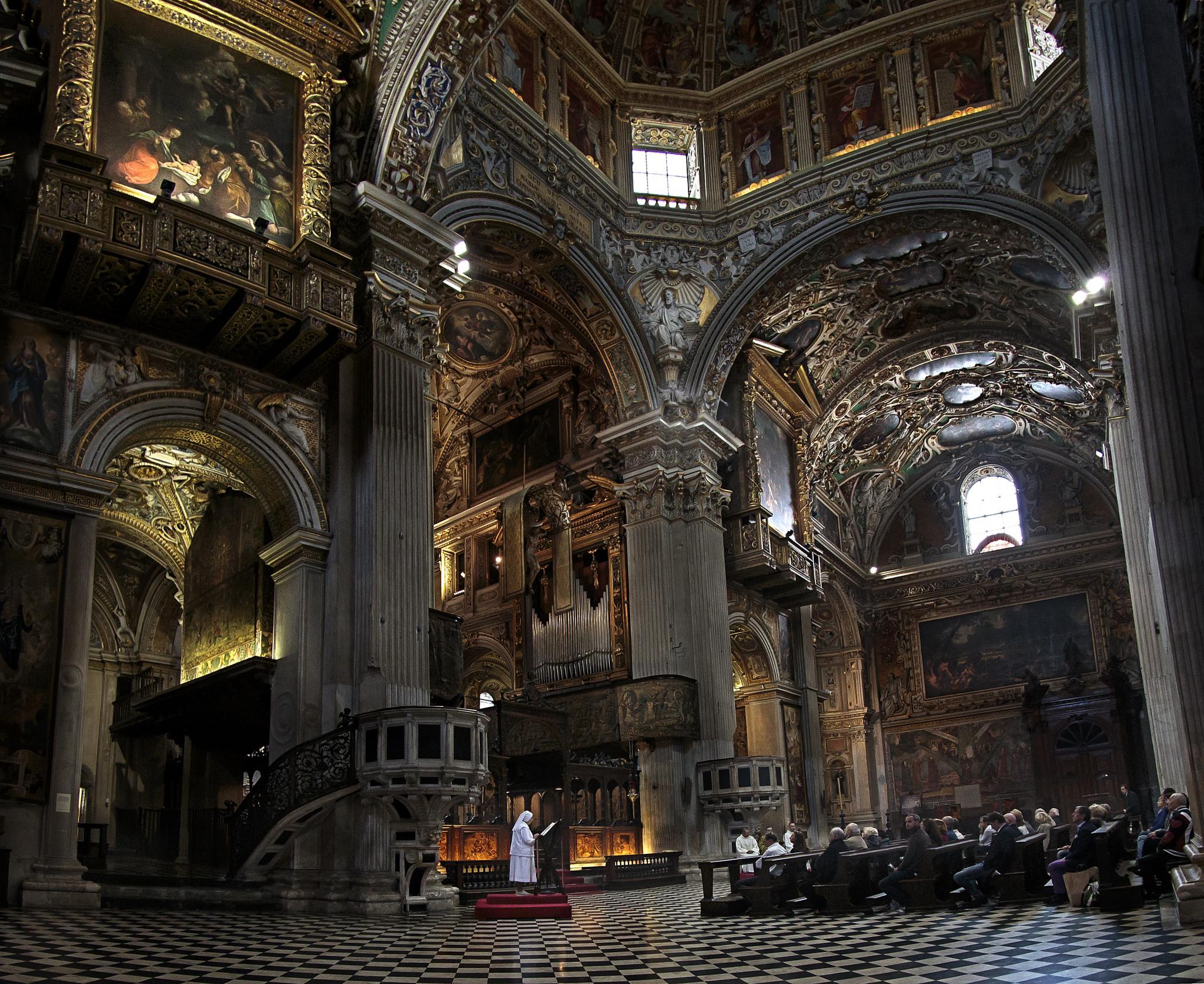 Photo in Random #bergamo #mass #church