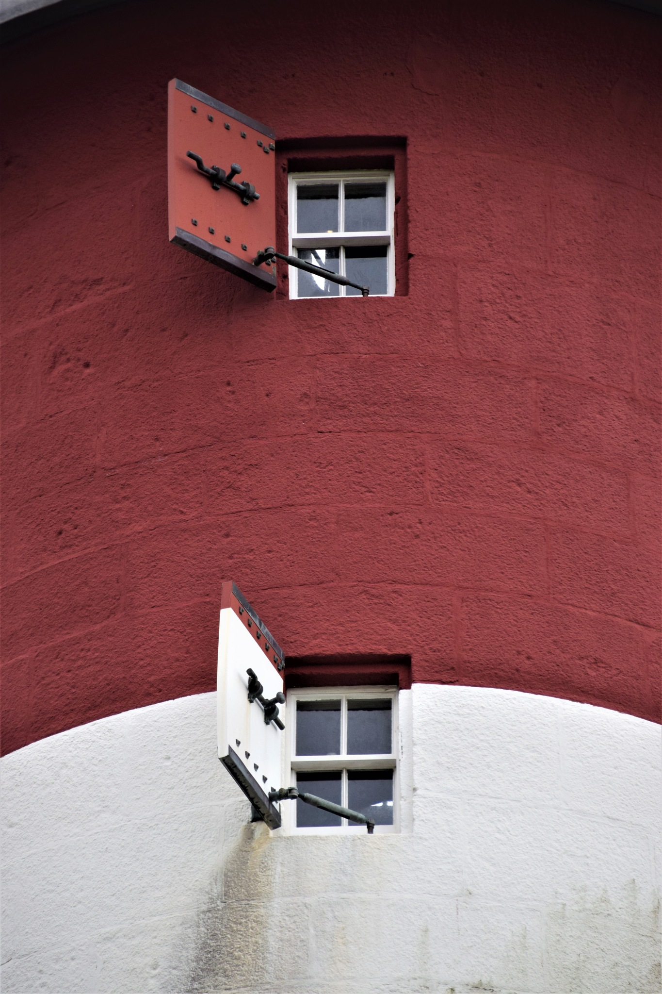Lighthouse Windows by JWelshPhotography