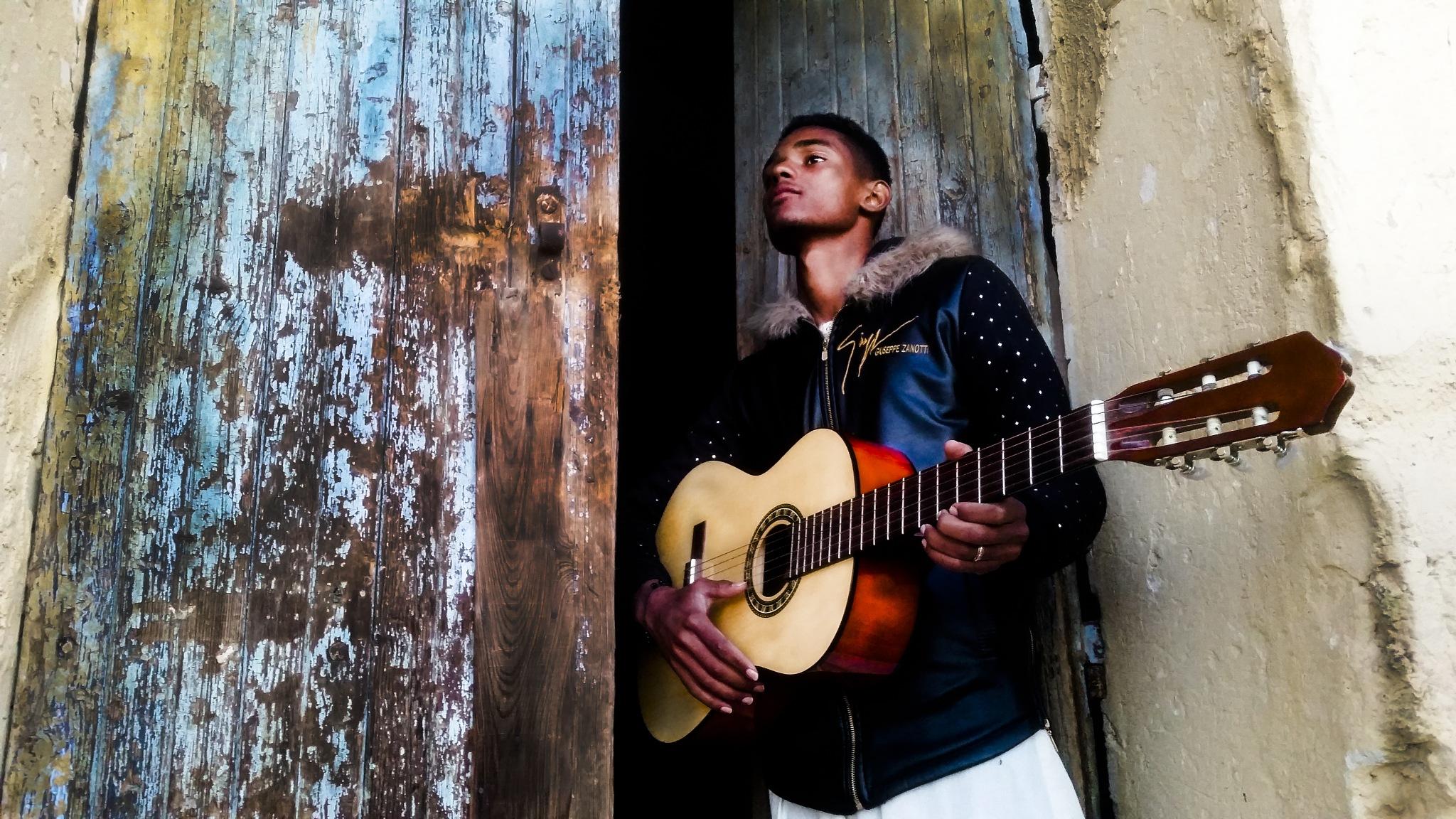 guitarist man  by akramraid25