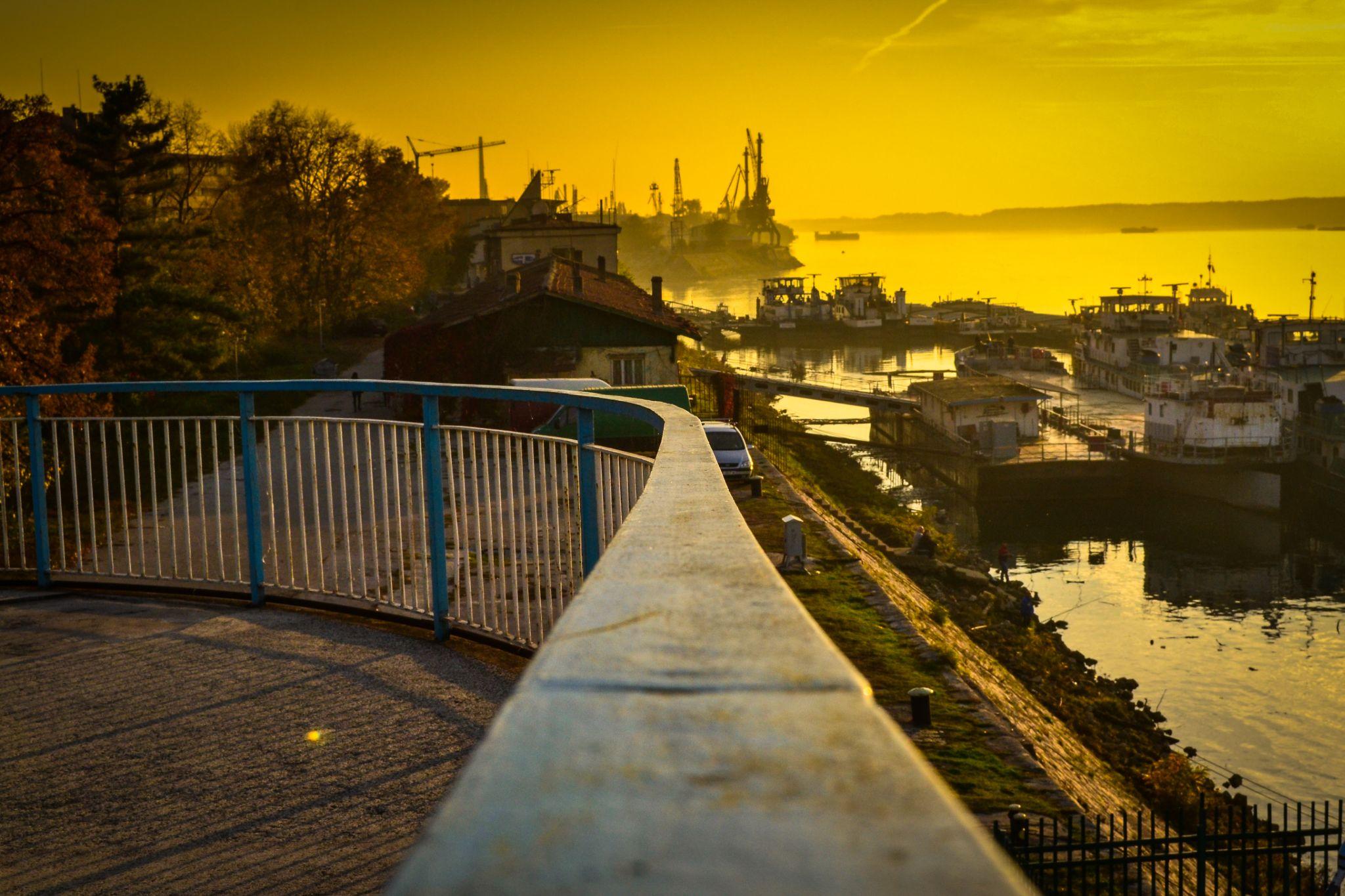 Danube river... by Milen Kolev