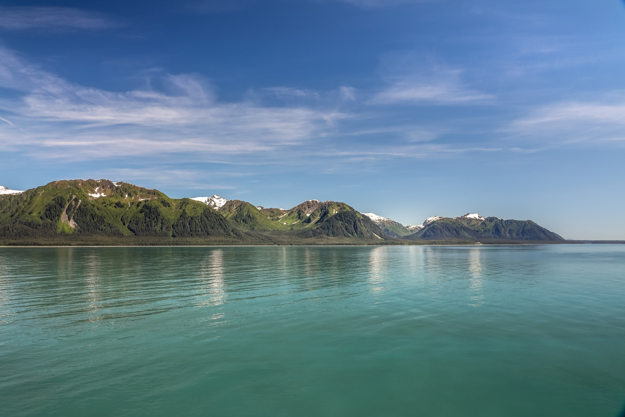 Alaskan coastline by Martina Birnbaum