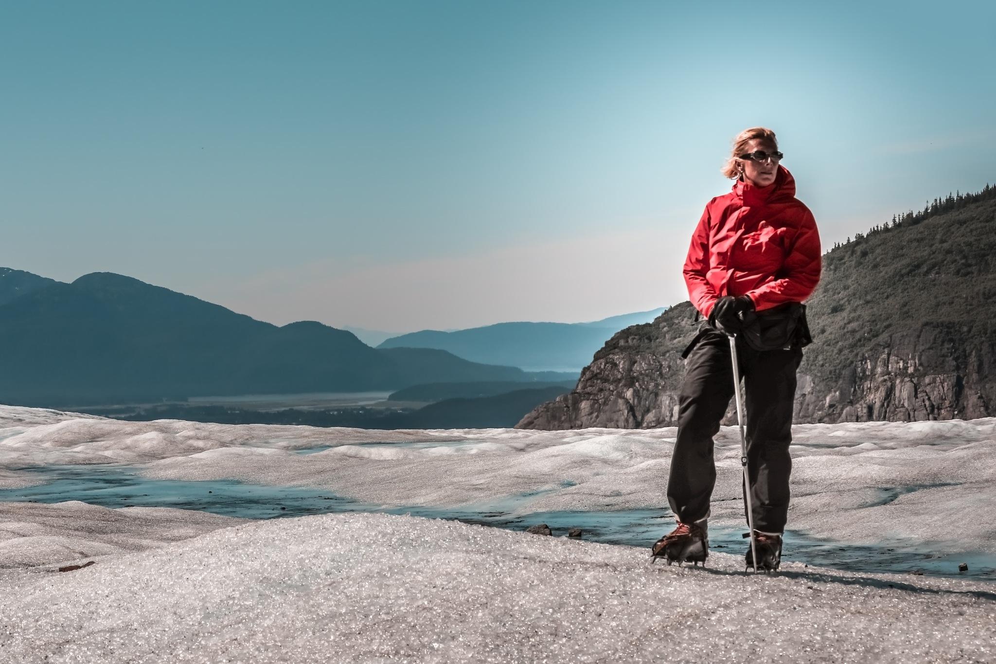 Glacier hike by Martina Birnbaum