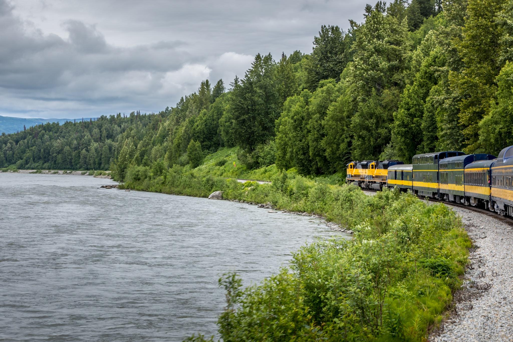 Ride through the wilderness of Alaska by Martina Birnbaum