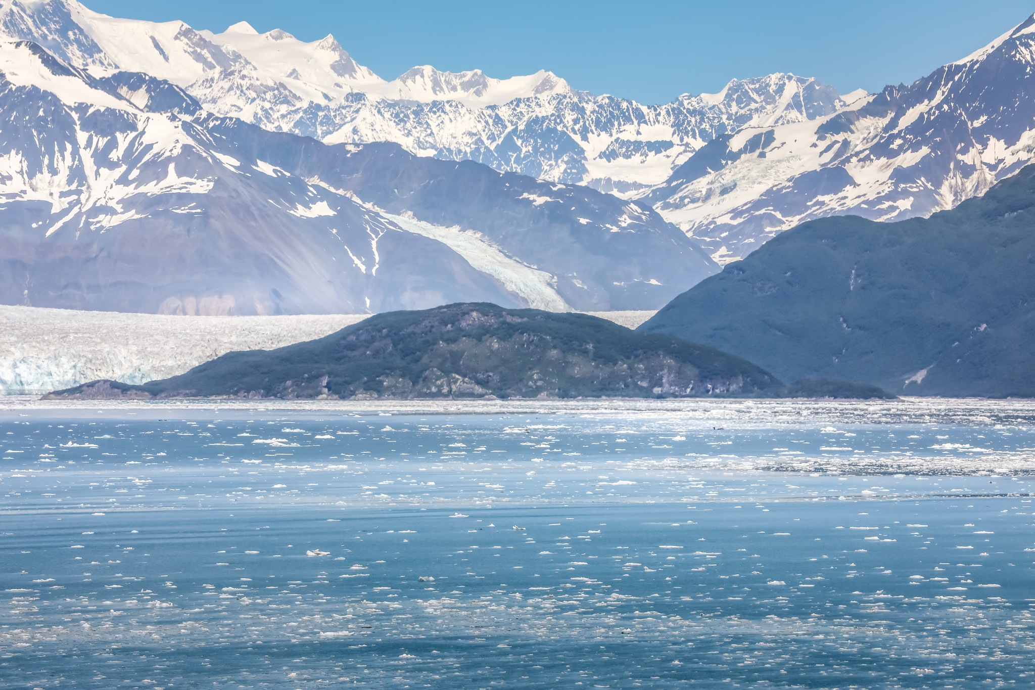 Hubbard Glacier, Alaska by Martina Birnbaum