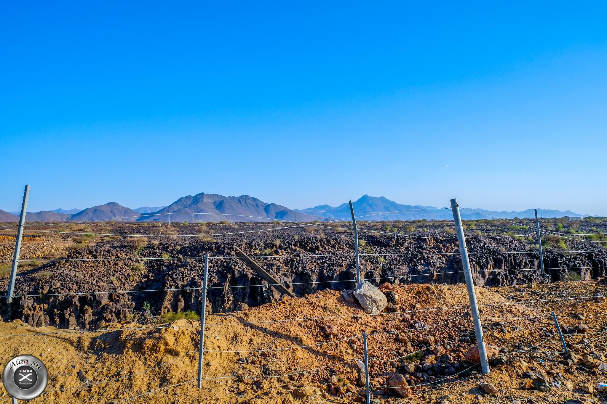 old volcano area  by Alaa Su