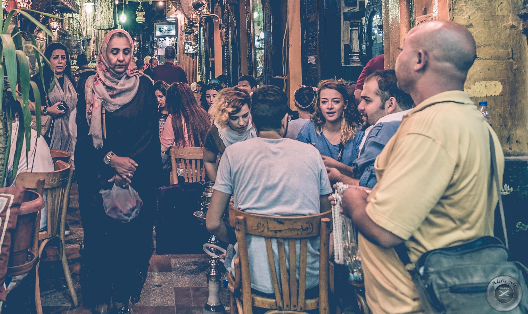Al Fishawy Cafe - Cairo by Alaa Su