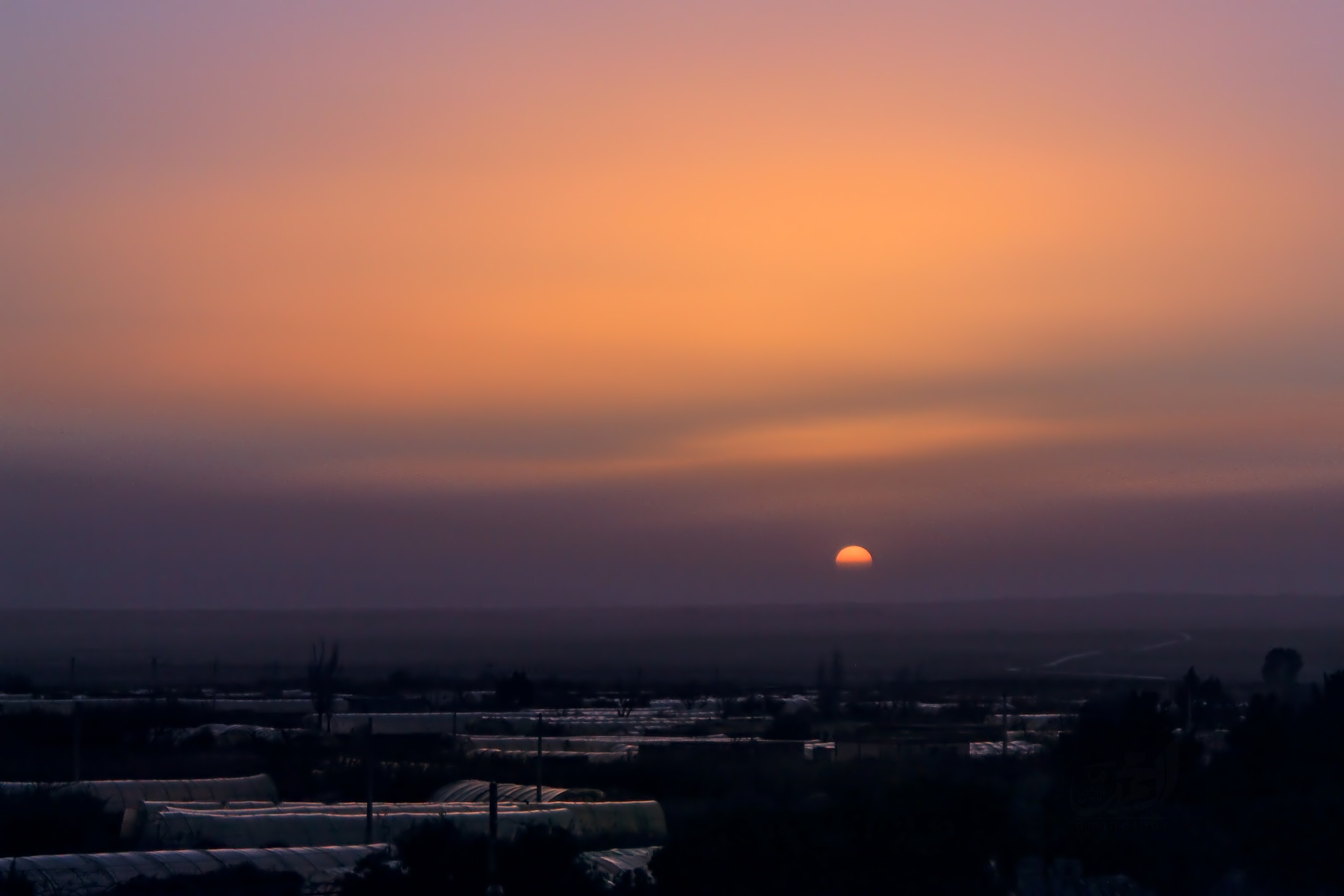 Sun down by MOHAMED ELAMIN EL BAR