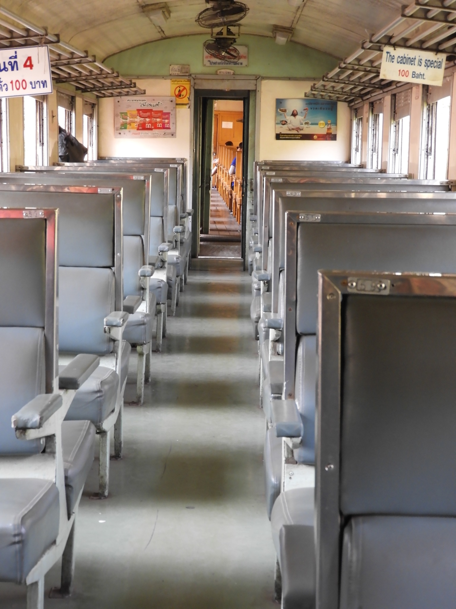 empty train by Henny van Broekhoven