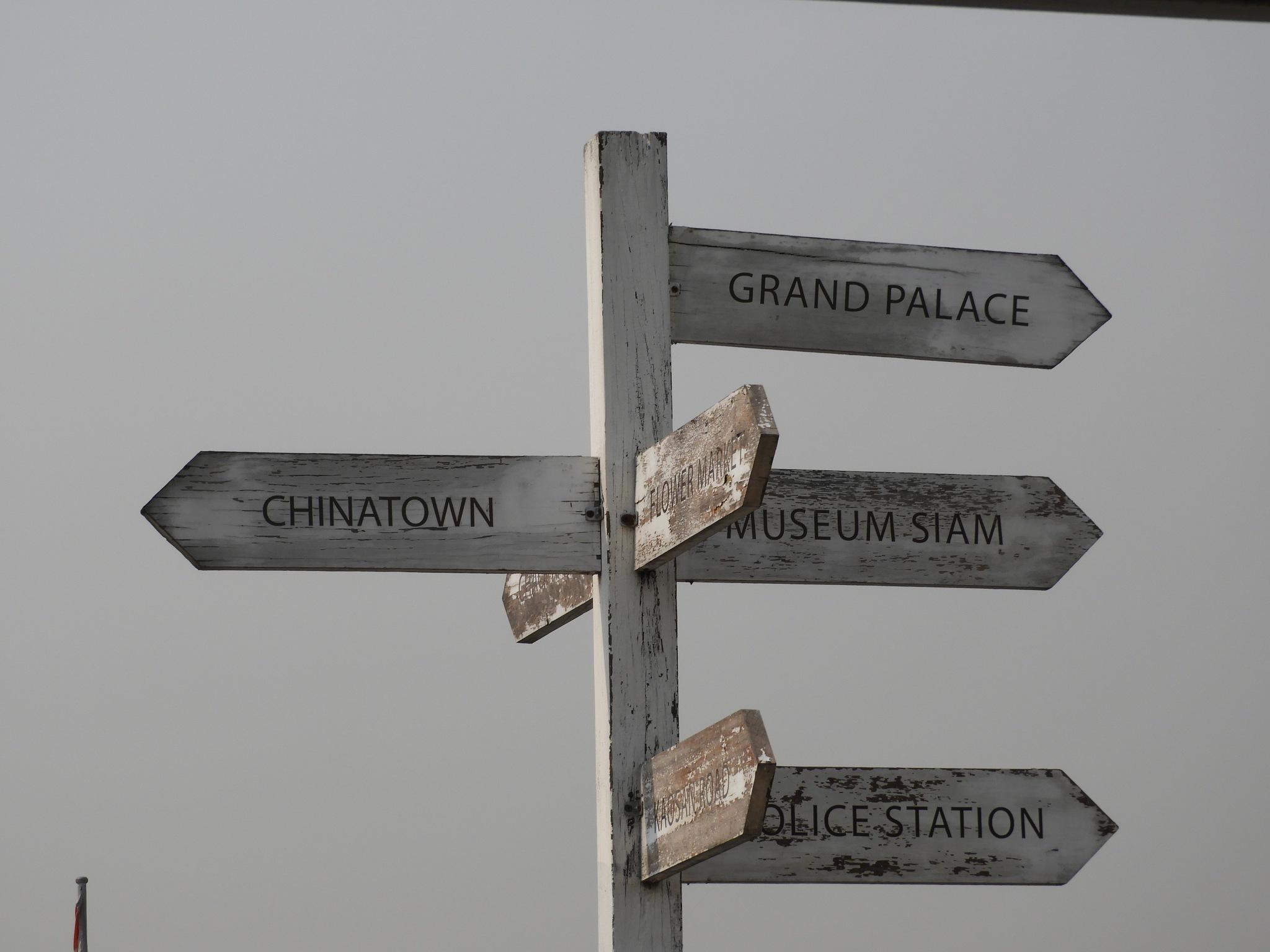 signposts by Henny van Broekhoven